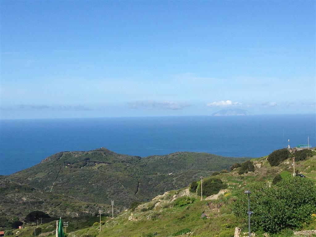 Blick von Giglio zum Festland