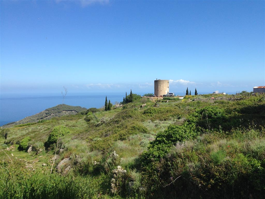 Giglio Castello, bewohnter Wasserturm