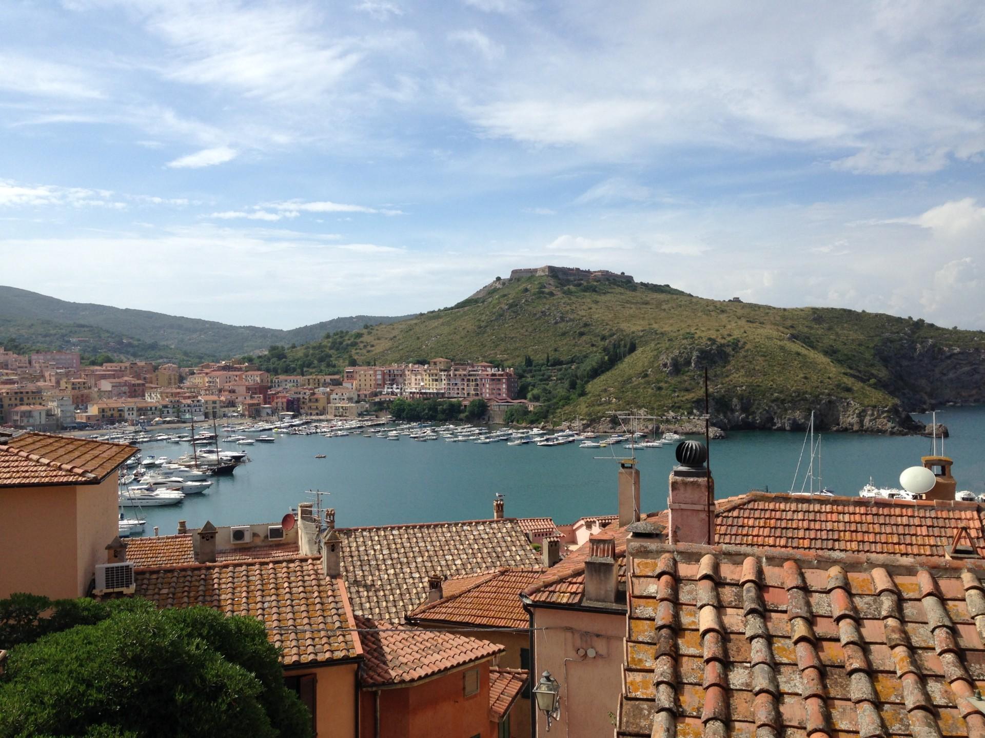 Porto Ercole, Blick zum Hafen