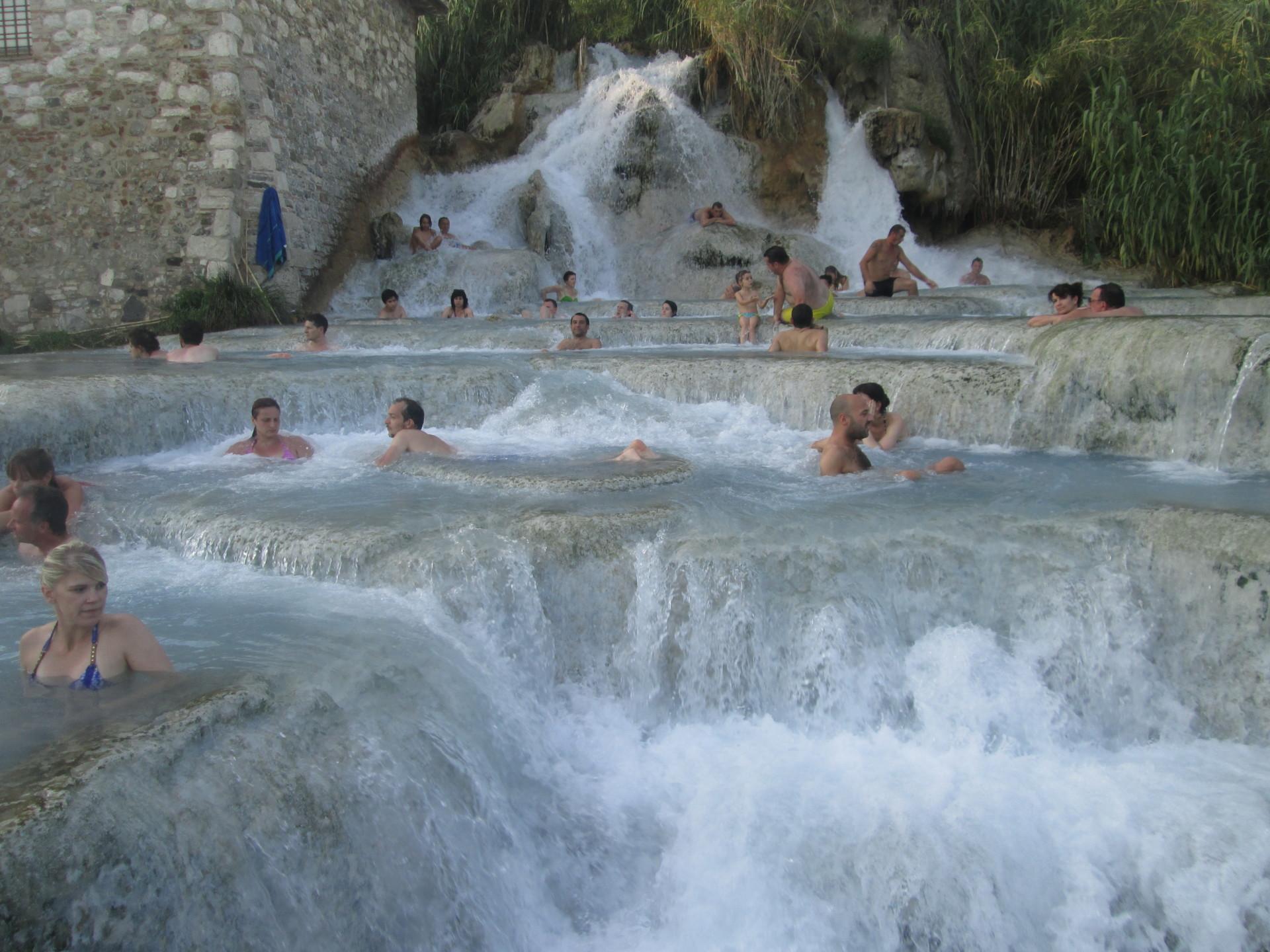 Herrlich, das Bad In den Cascate vonSaturnia