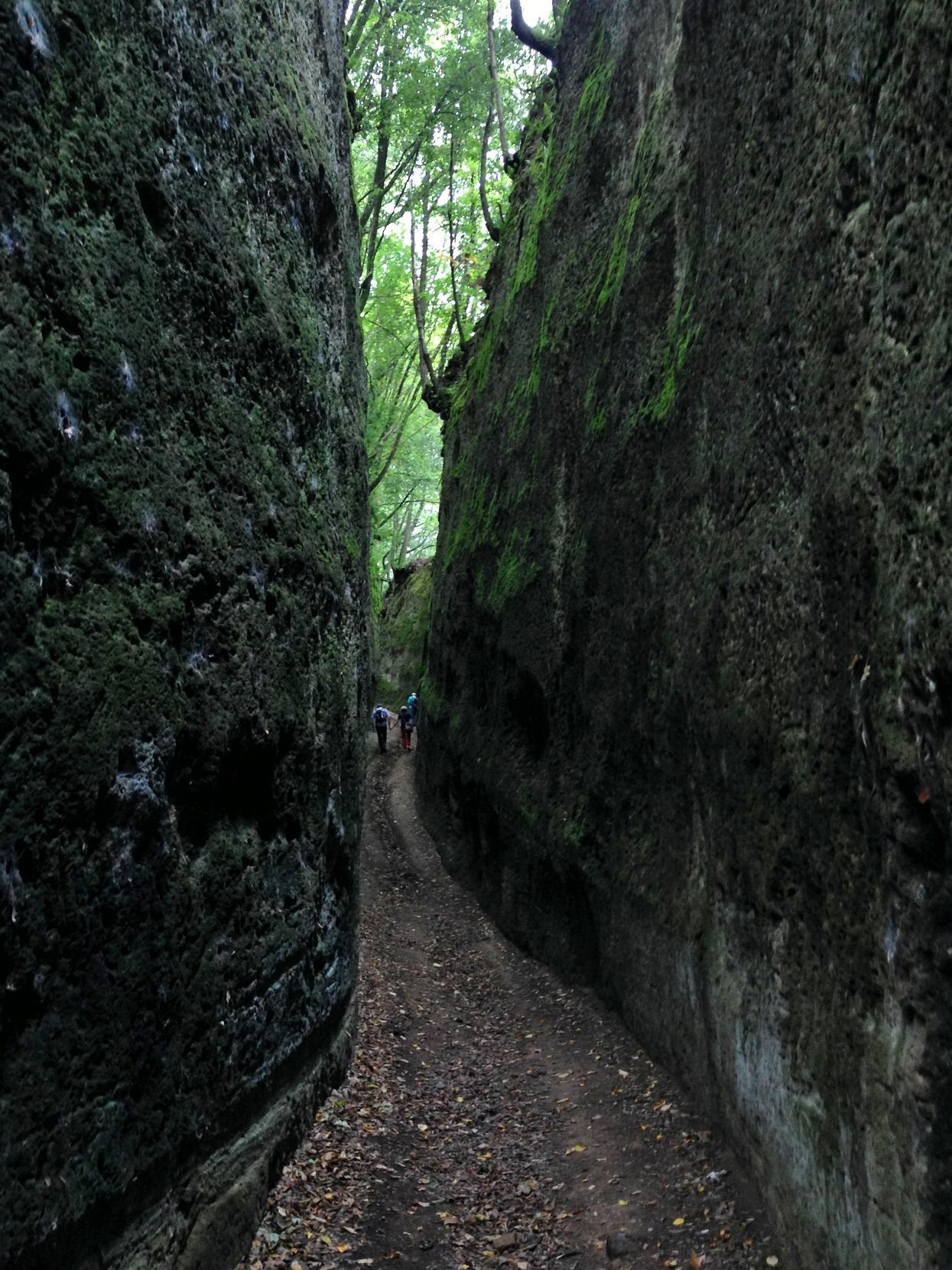 Alte Etruskerstrasse bei Sovana, genannt Via Cava