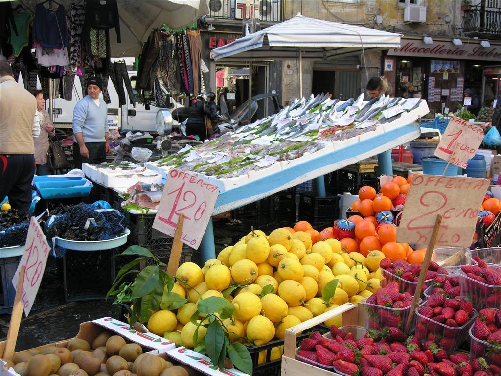 Napoli, auf dem Markt
