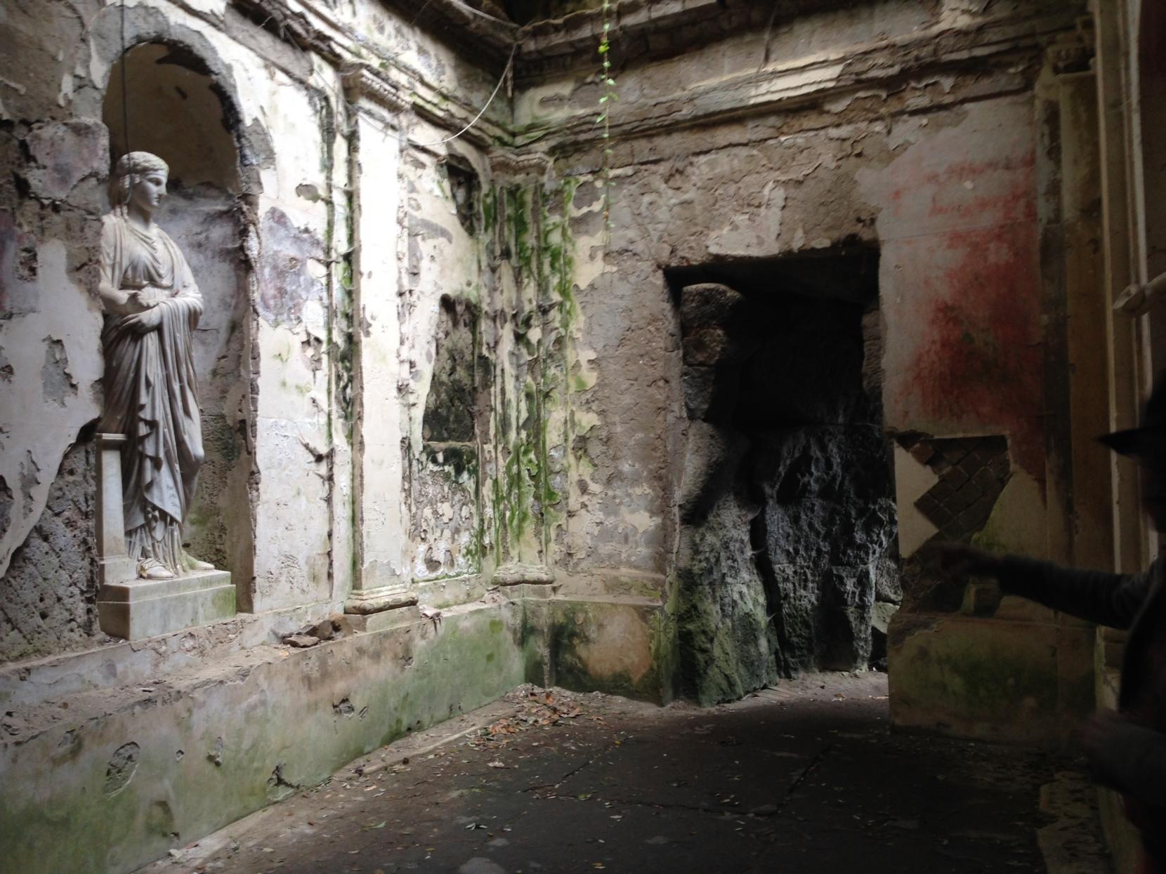 in einem verwunschenen Tempel, unterwegs mit Indiana Jones?