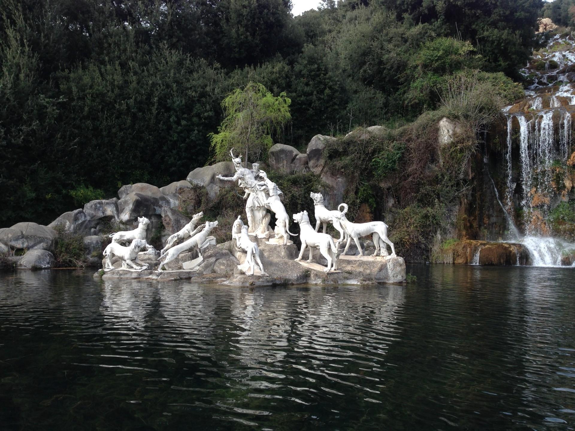 Reggia Caserta - Idylle, wären da nicht die Vulkane
