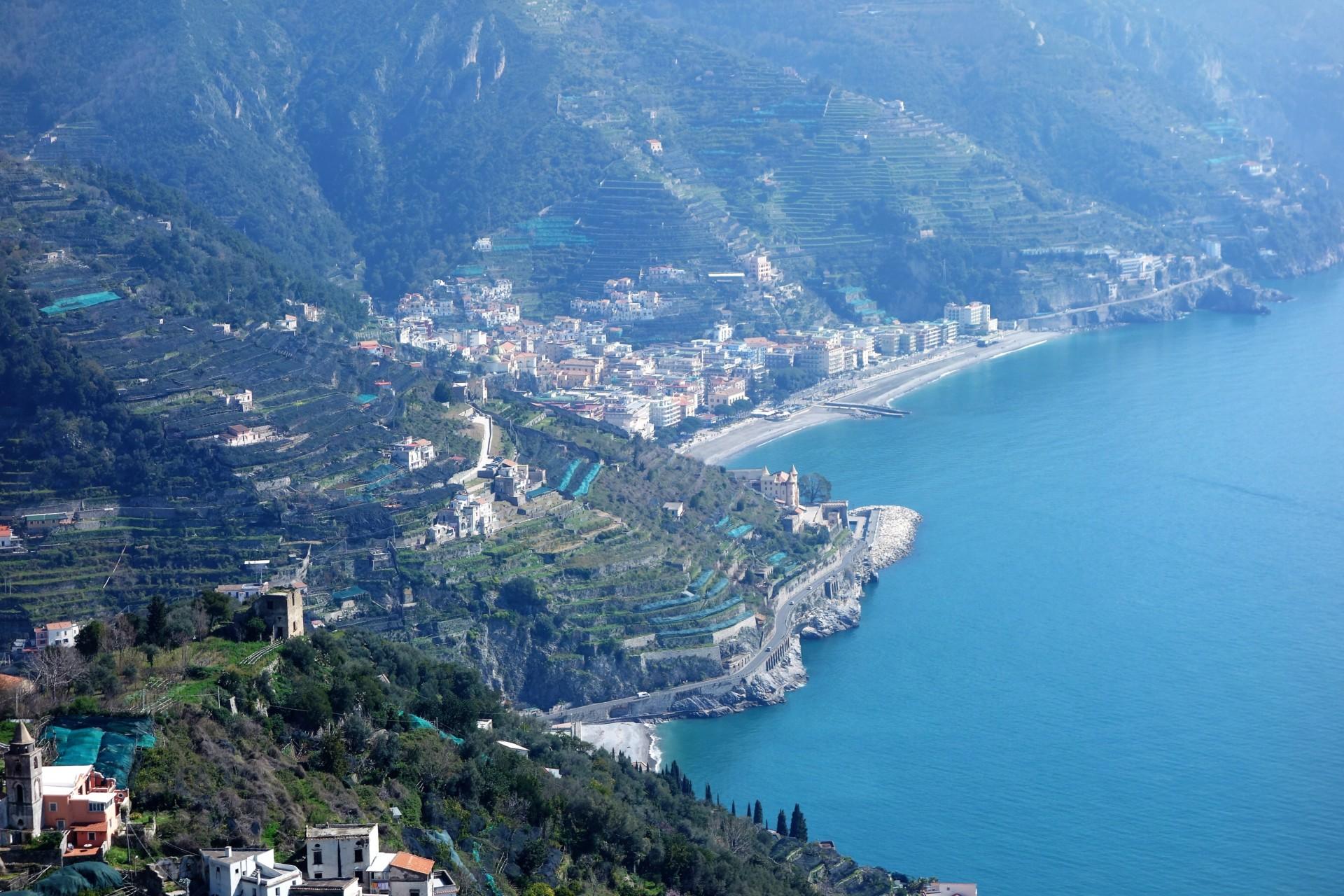 Amalfitana: Maiori und Minori, Costa Amalfi
