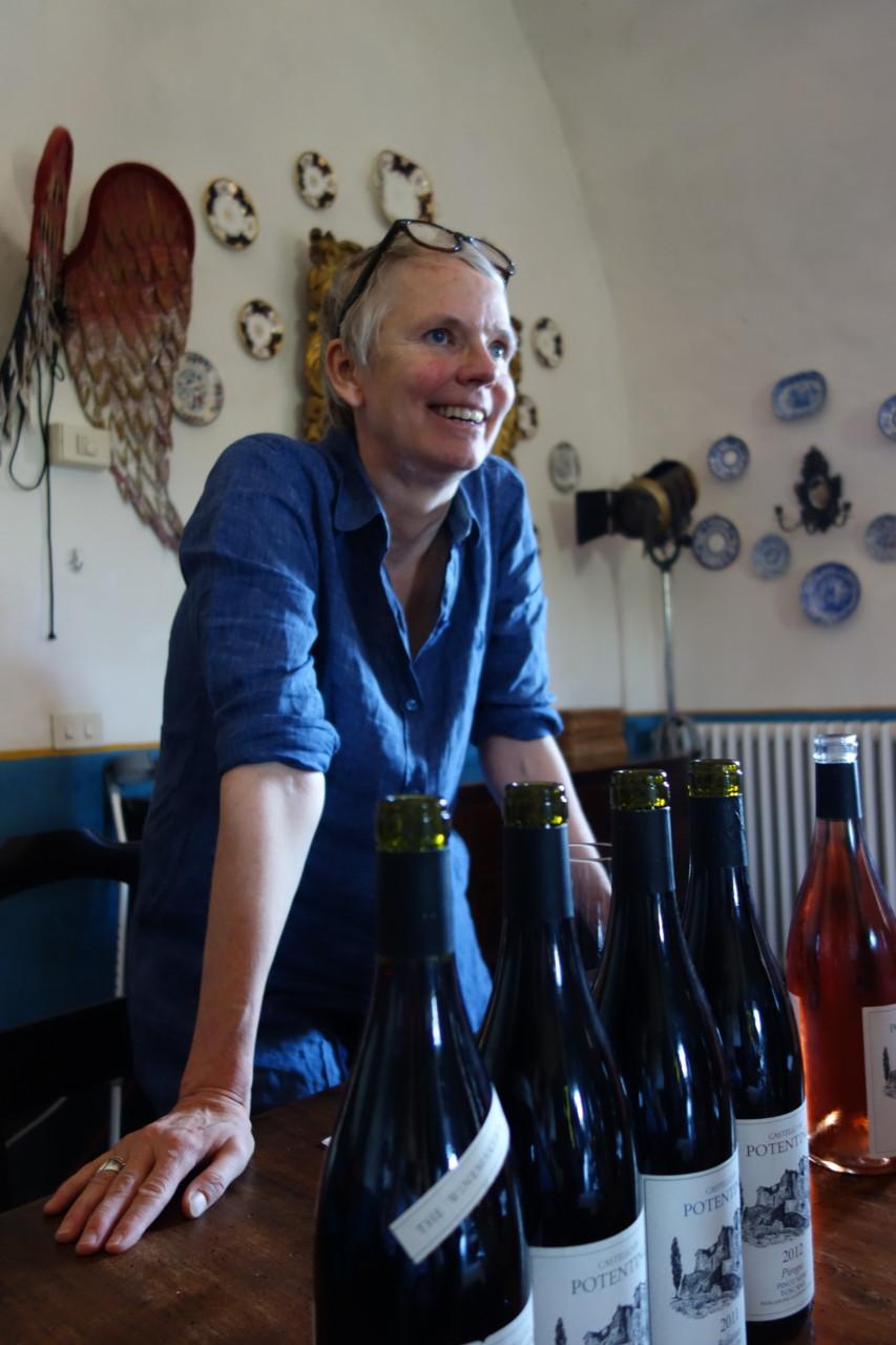 Charlotte Horton, Winzerin: Einführung in die Kunst des Degustierens