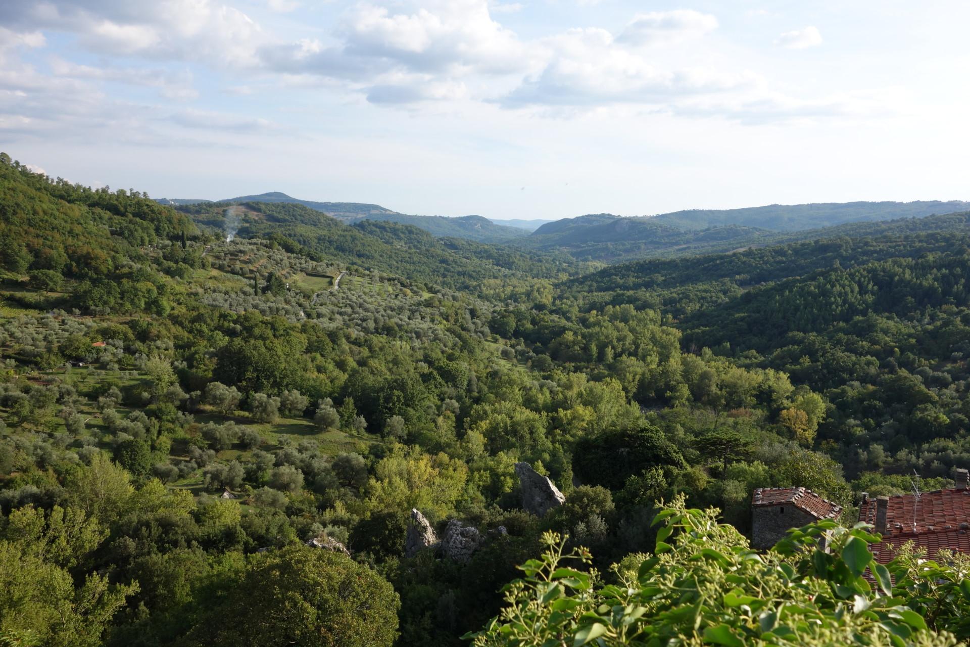 Rocalbegna, Blick gegen Süden