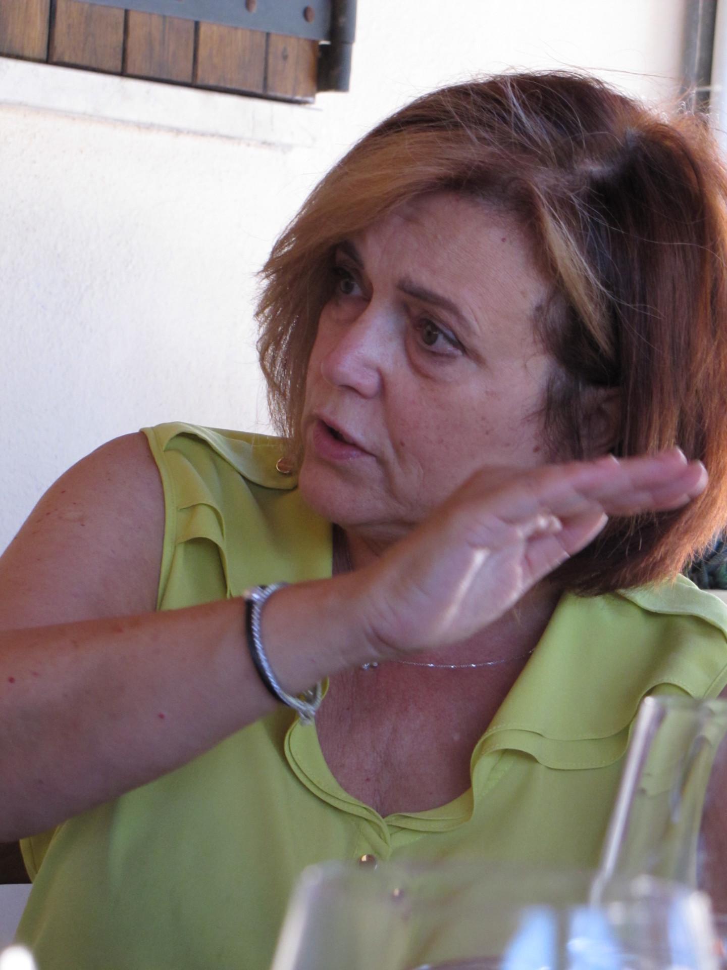 Patrizia - sie gibt dem Weiingut den Namen*