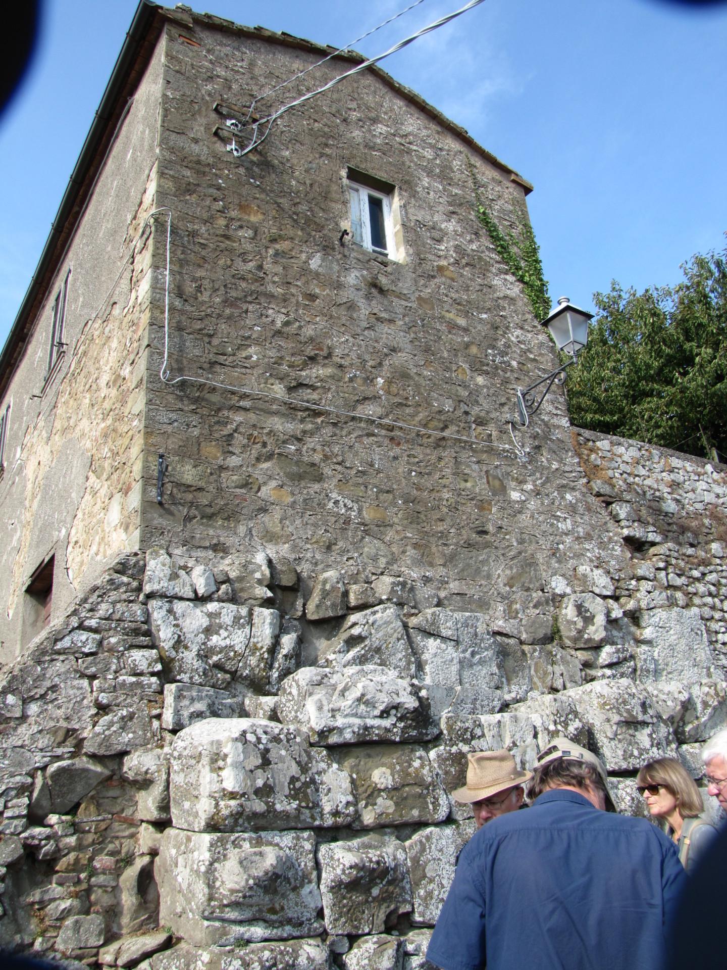 Etruskermauern in Vetulonia