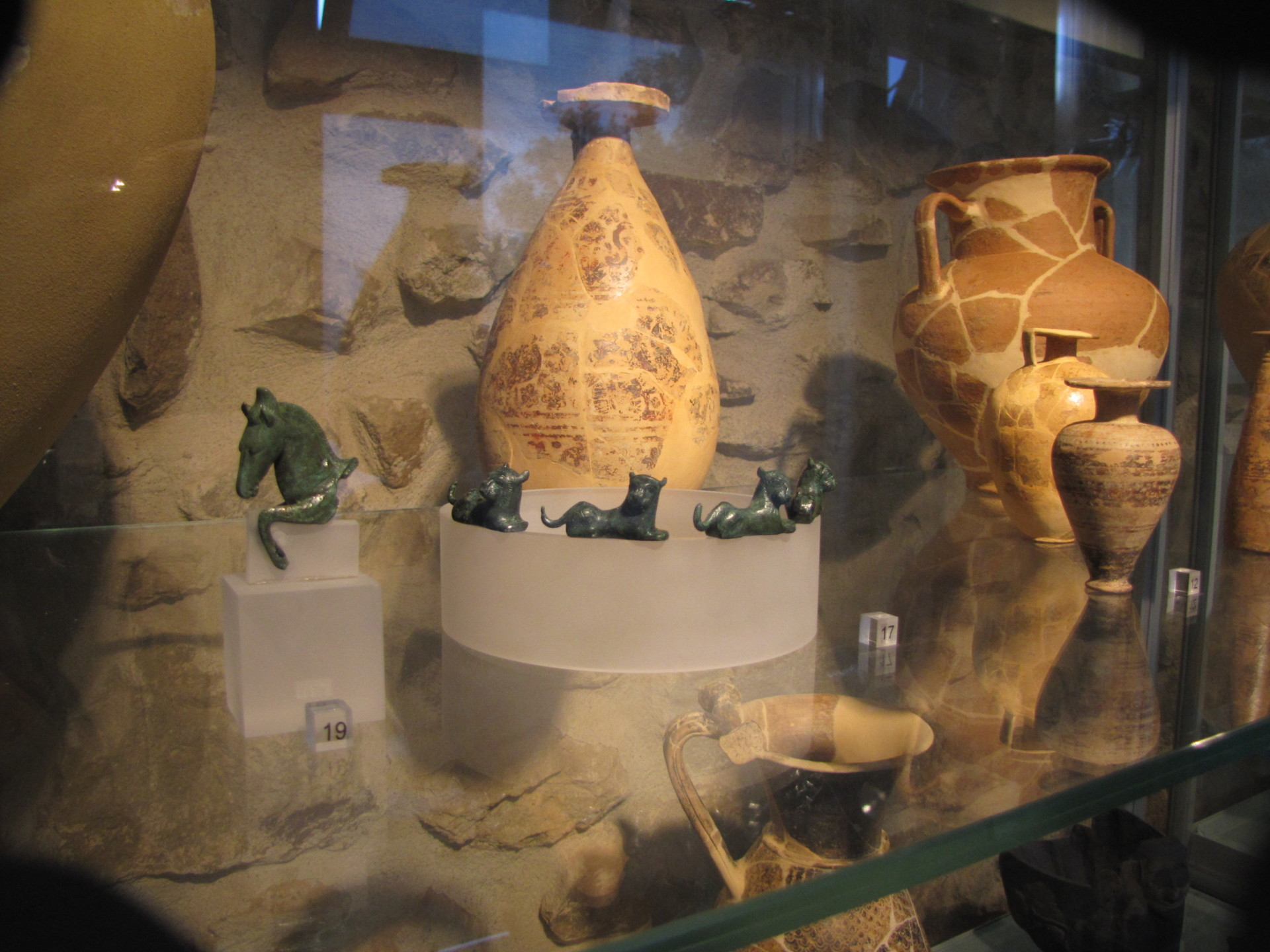 Im Museo Isidoro Falchi, Vetulonia*
