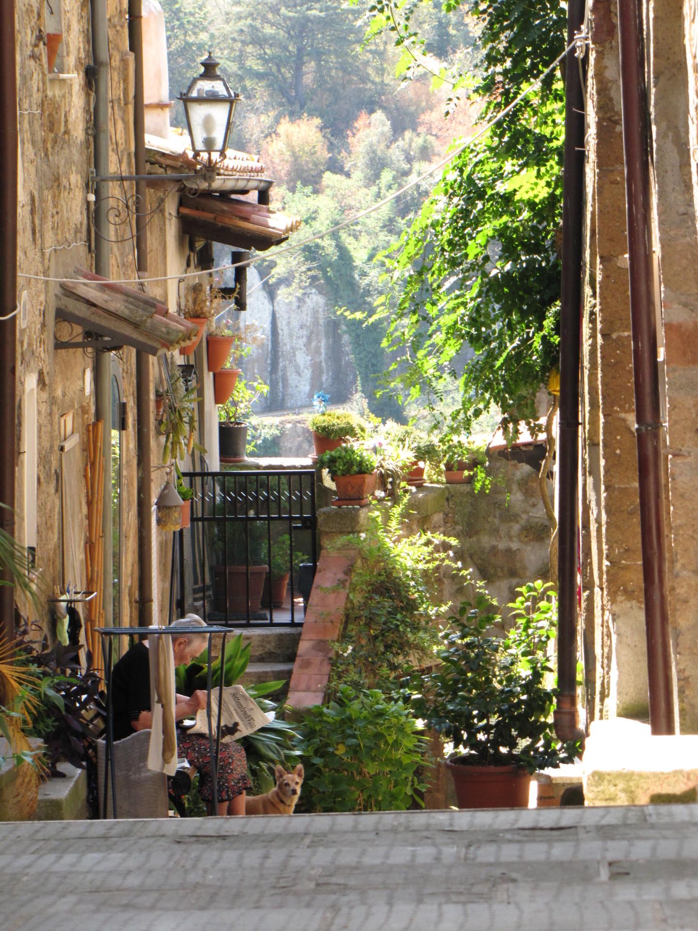 Atmosphäre in Pitigliano*