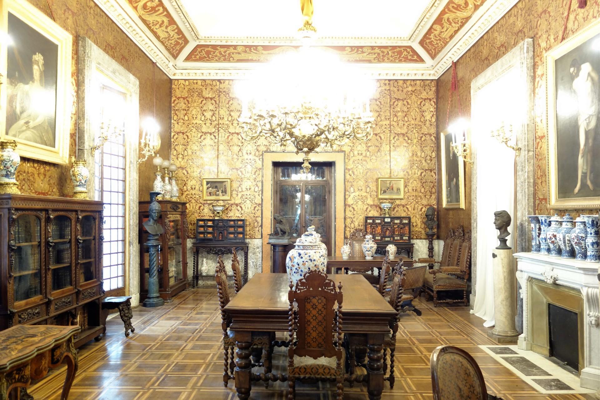 Villa Pignatei lldas goldene Zimmer!