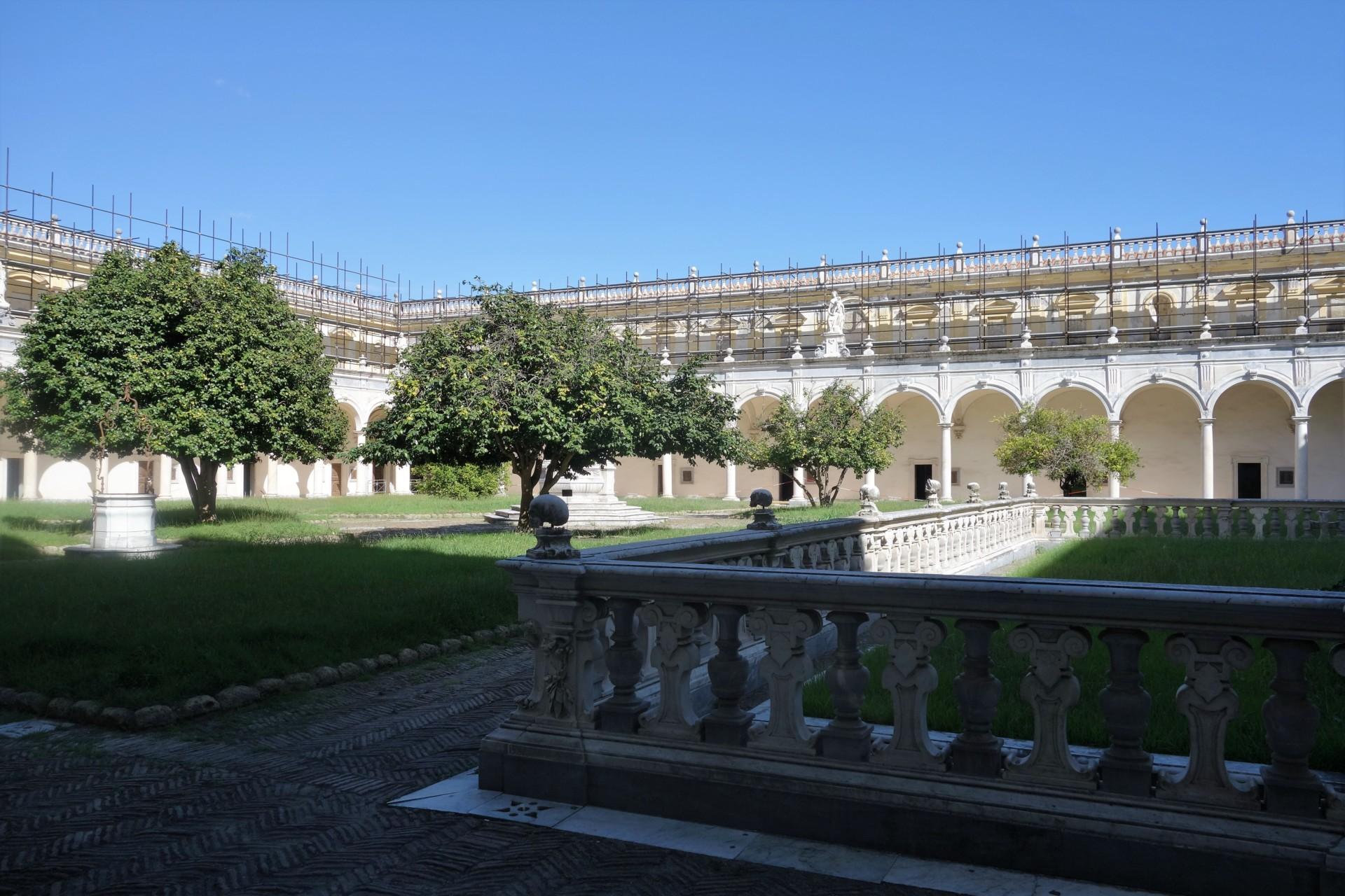 In der Certosa di San Martino