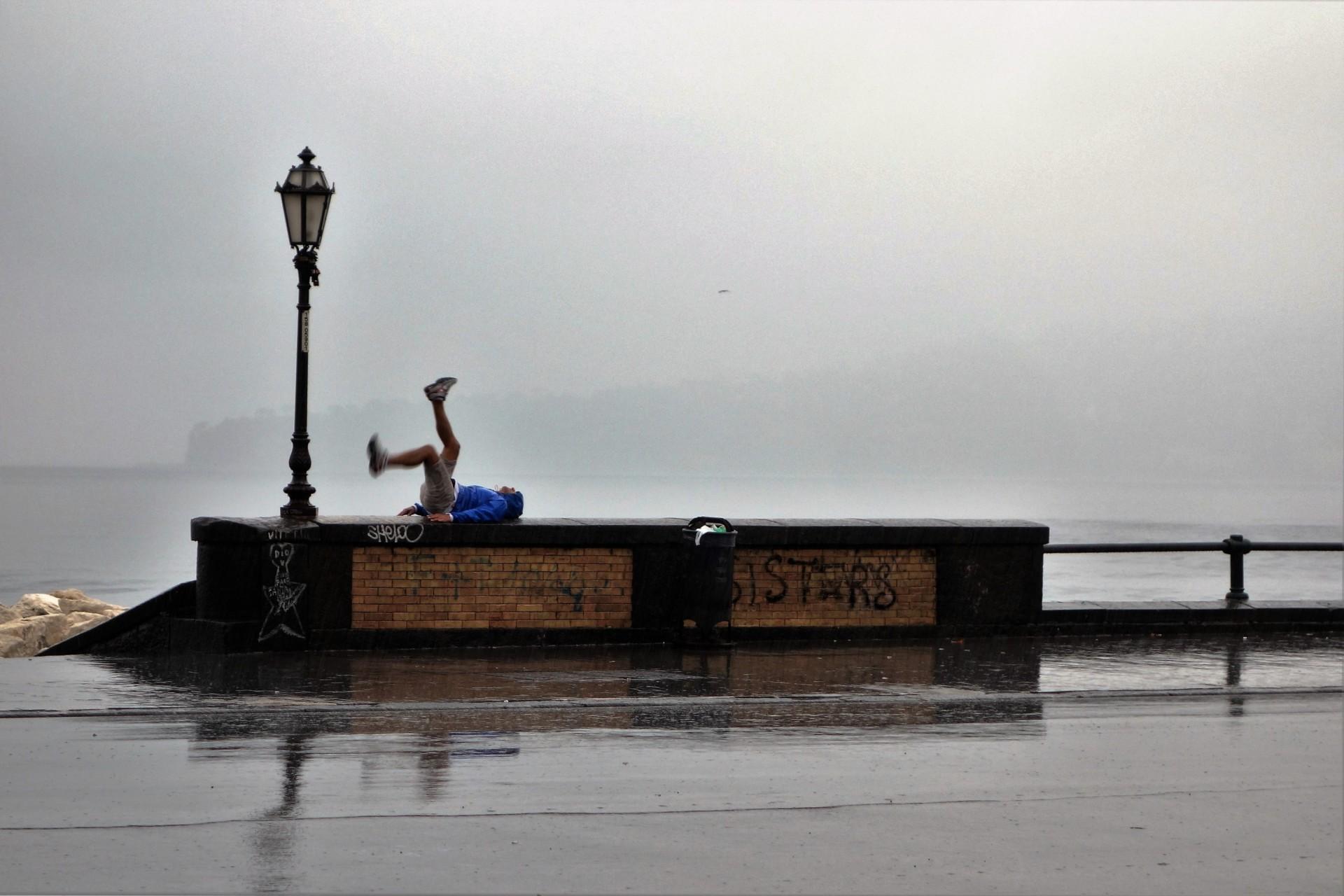 Training bei Regen