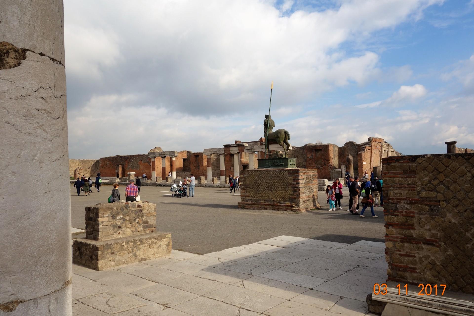 Pompeji auf dem Forum