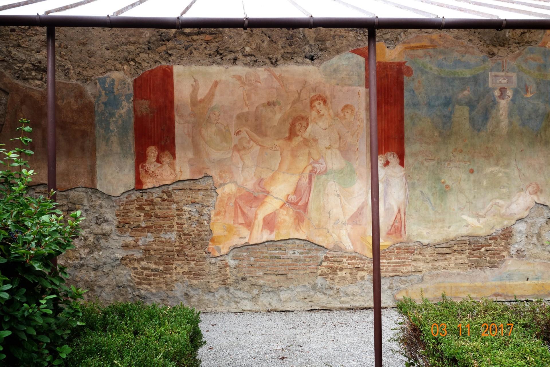 Pompeji Wandmalerei