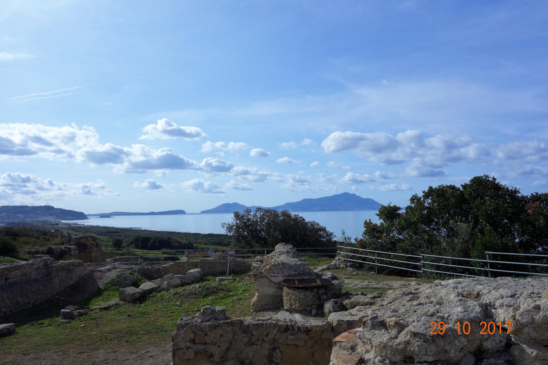 Auf der Akropolis in Cumae