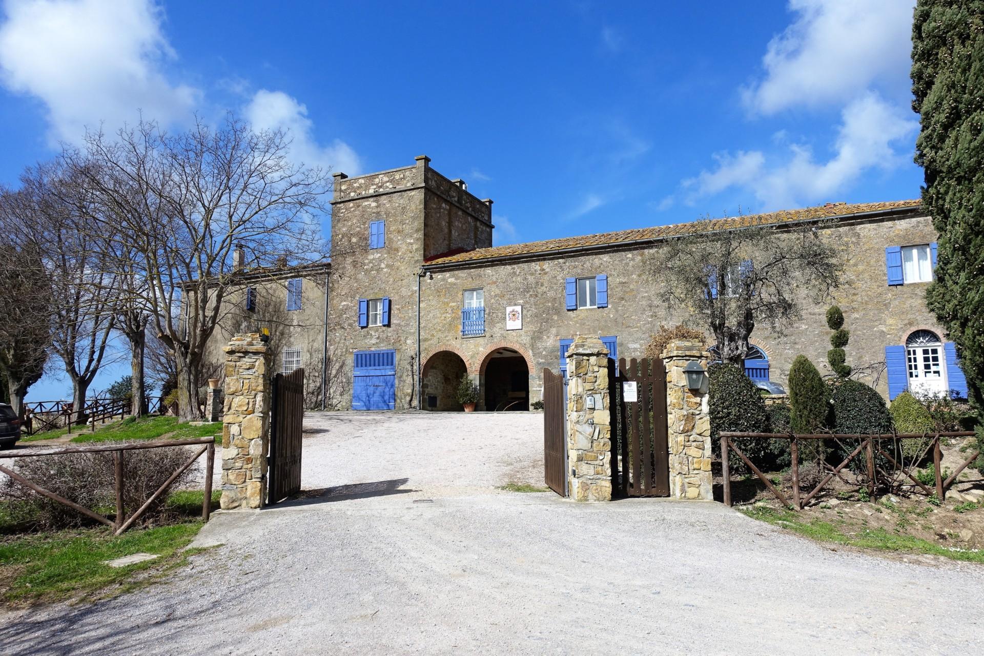 La Capitana, die Einfahrt
