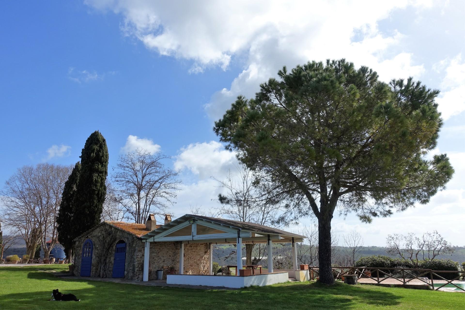La Capitana, der Pavillon