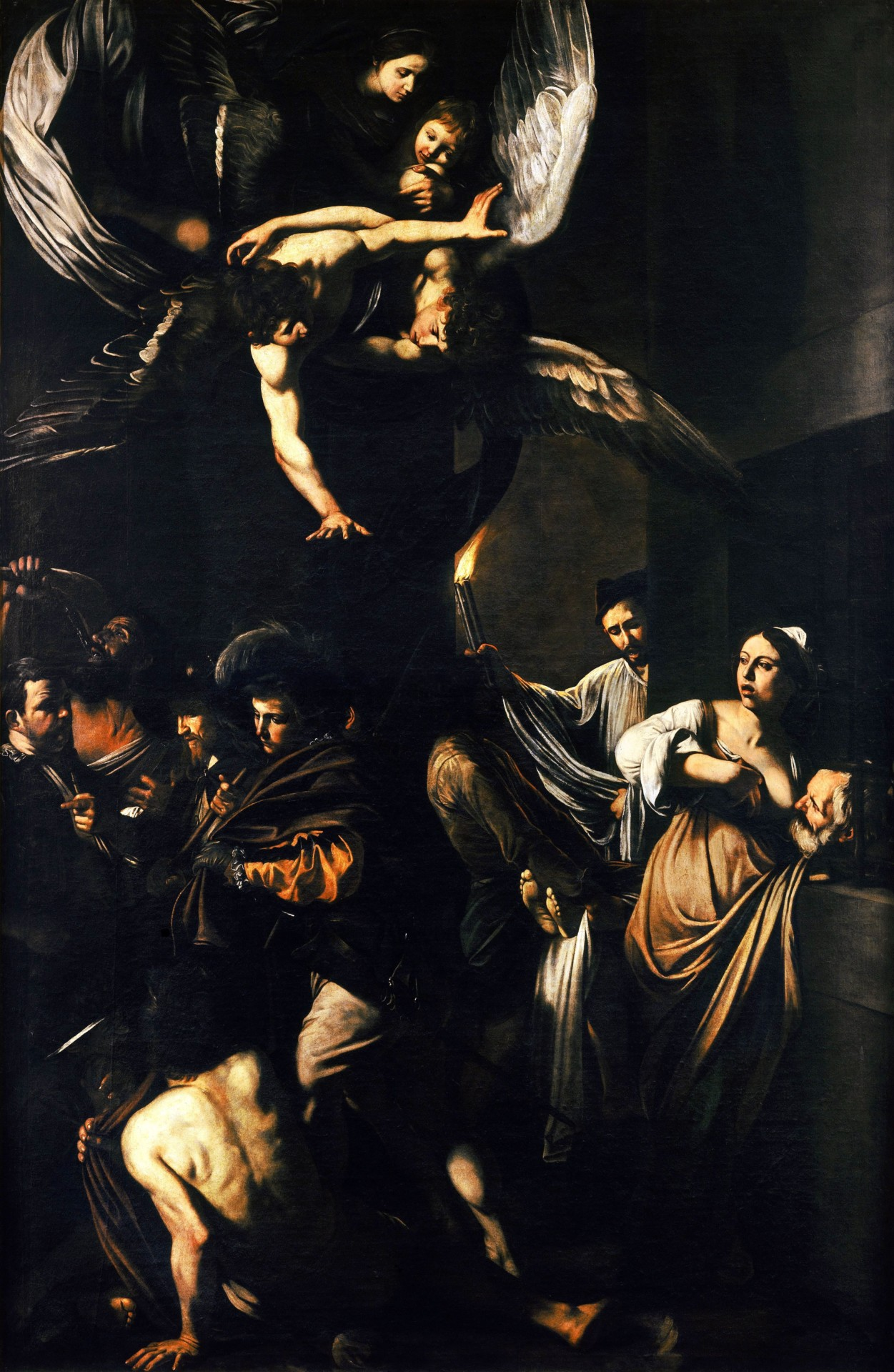 Nap. Caravaggio - le sette opere della misericordia