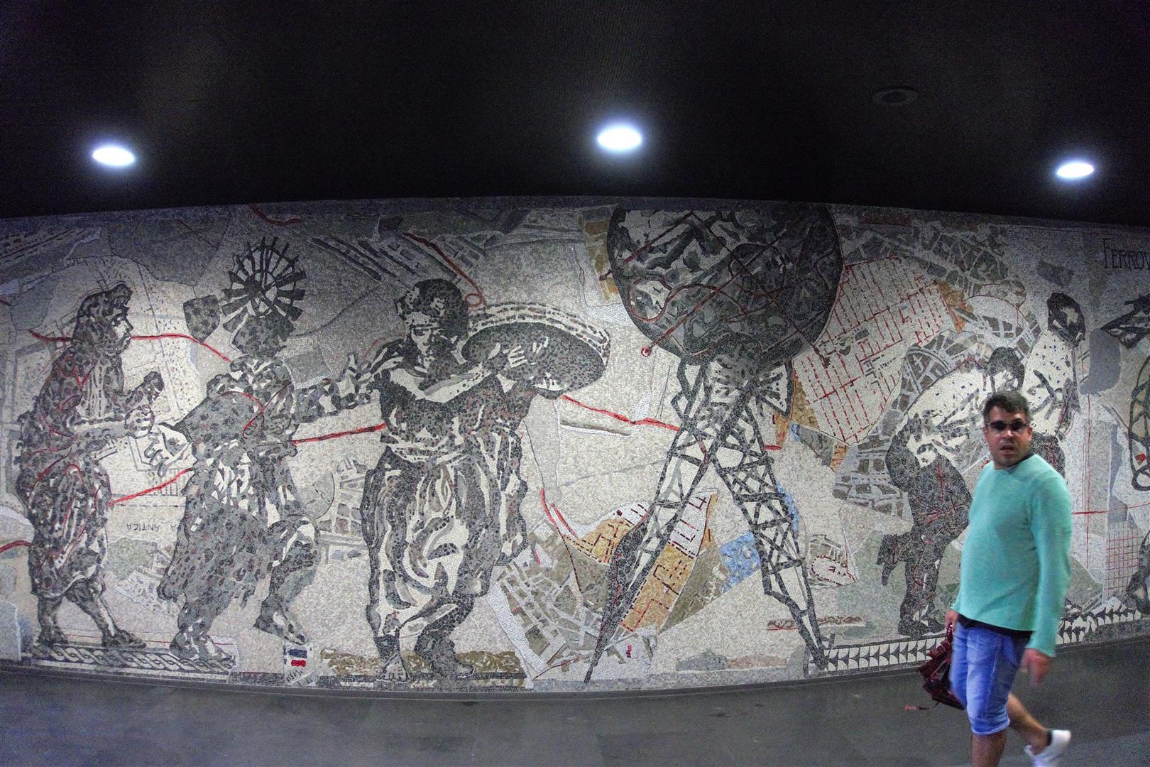 Wandbild Kentridge