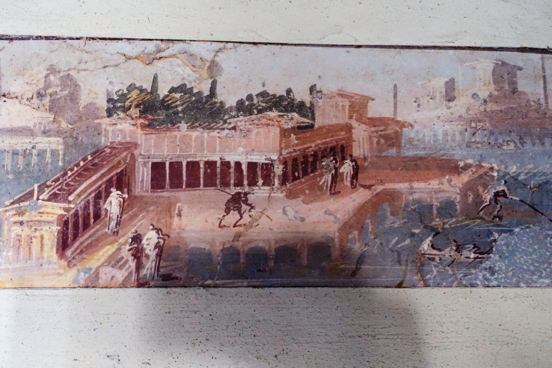 Villa San Marco: Wandmalerei