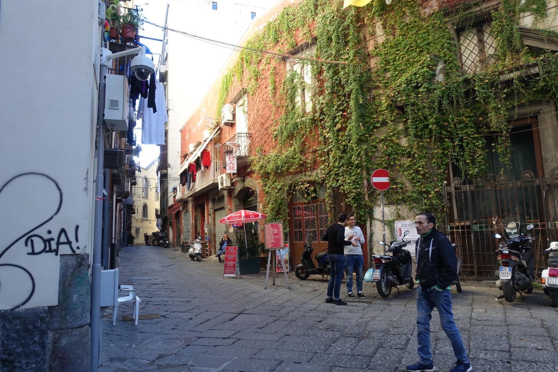 Im centro storico von Neapel