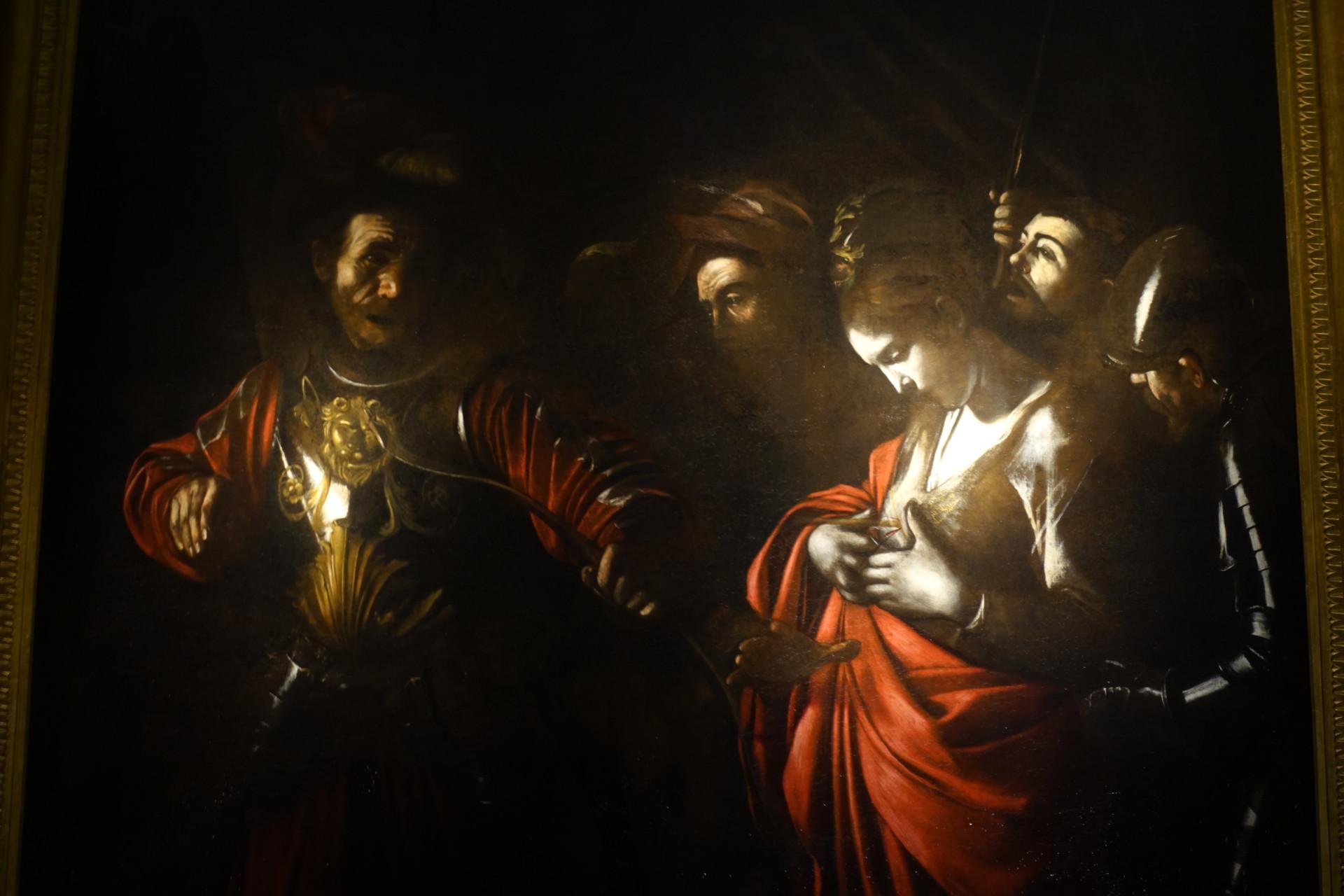 Caravaggios letztes Werk, Sant'Orsola