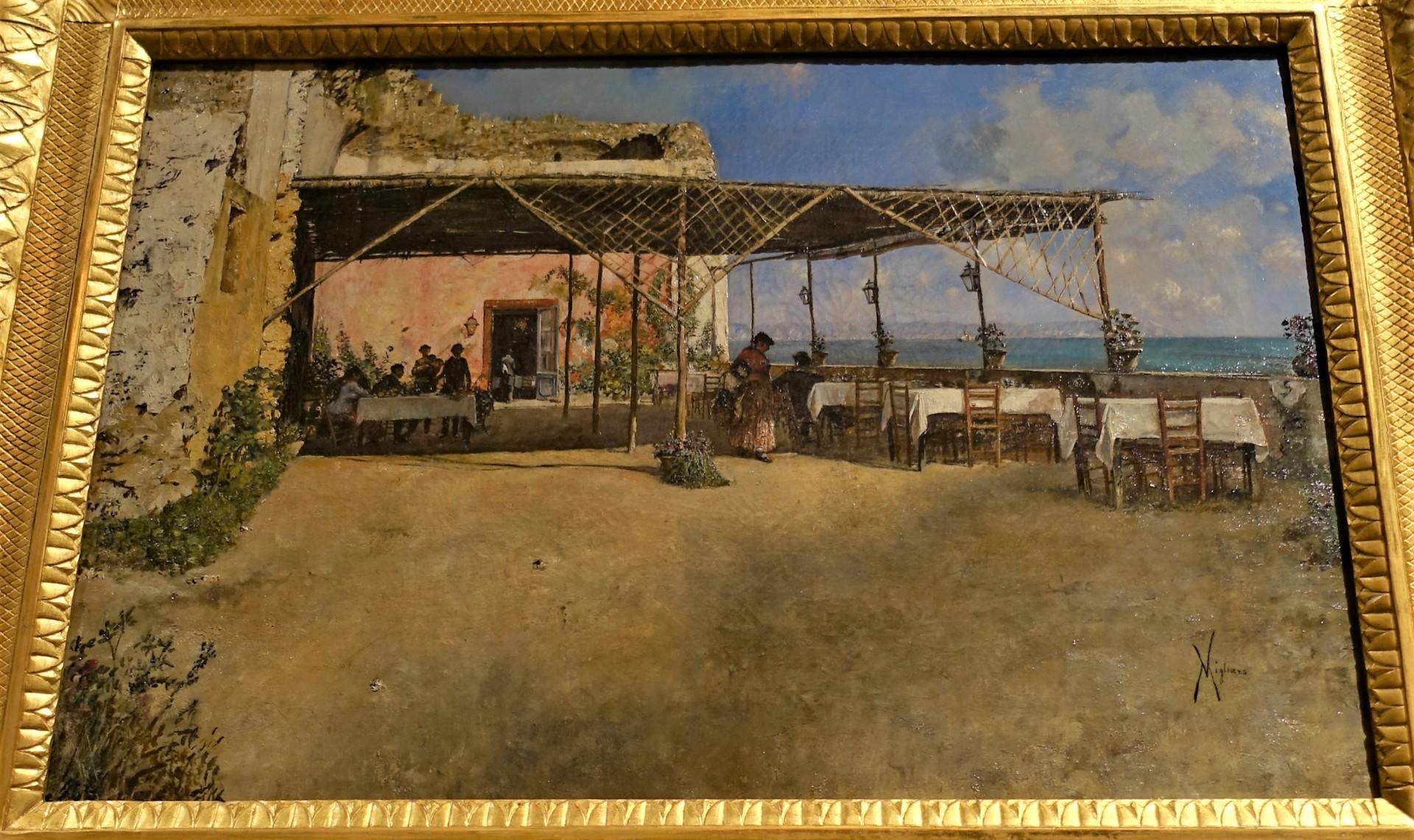In der Galerie des Palazzo Zevallos-Stigliano, Bild