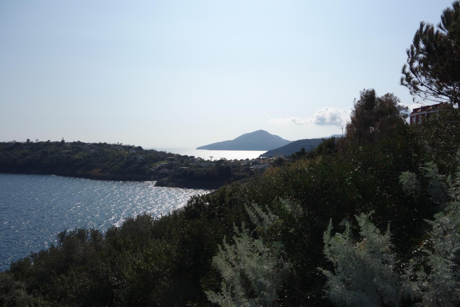 Procida: Blick auf Ischia