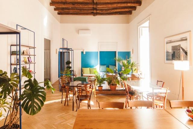 Lounge im guesthouse Super Otium