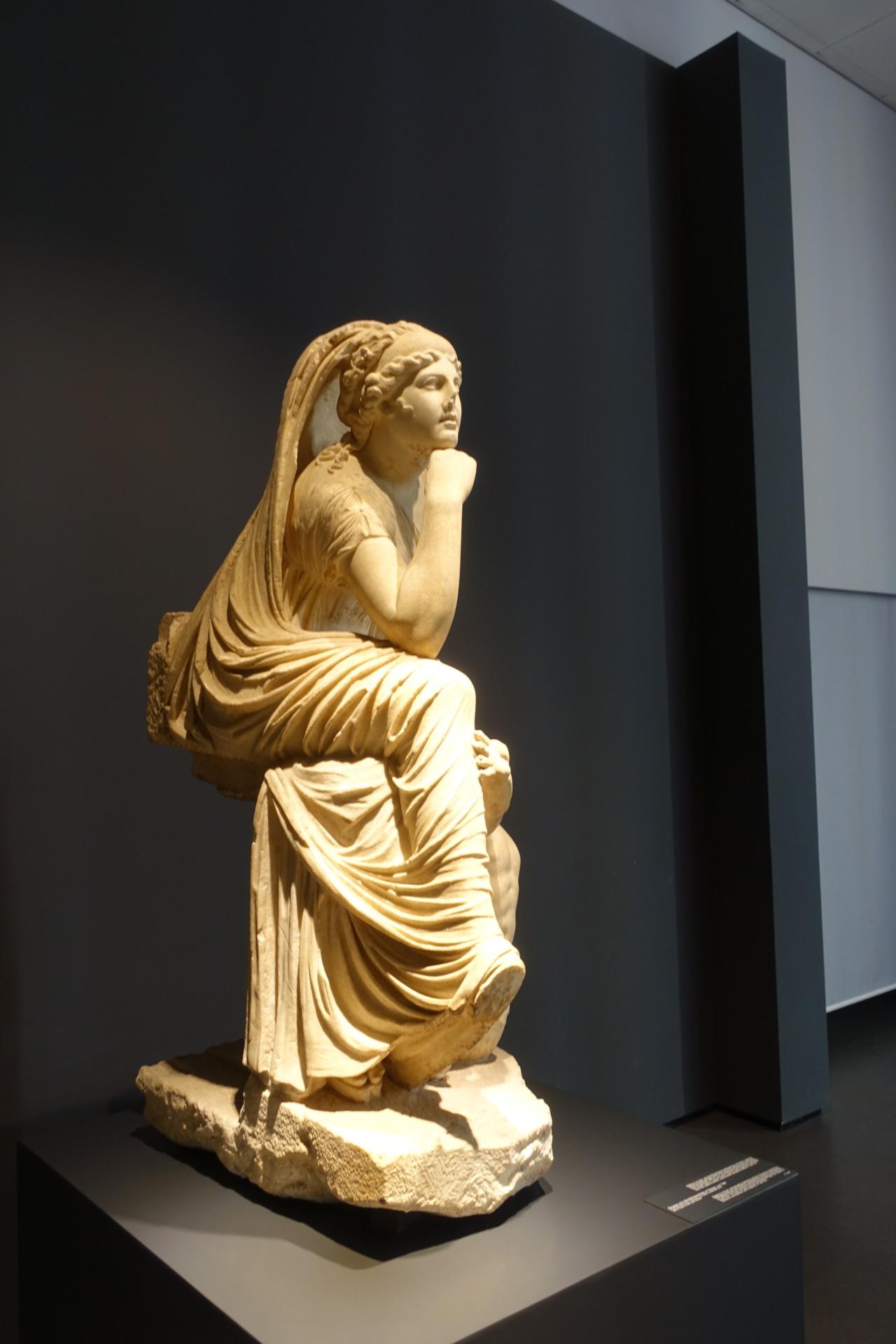 Mal schaun, was kommt - im Palazzo Massimo, römische Skulptur