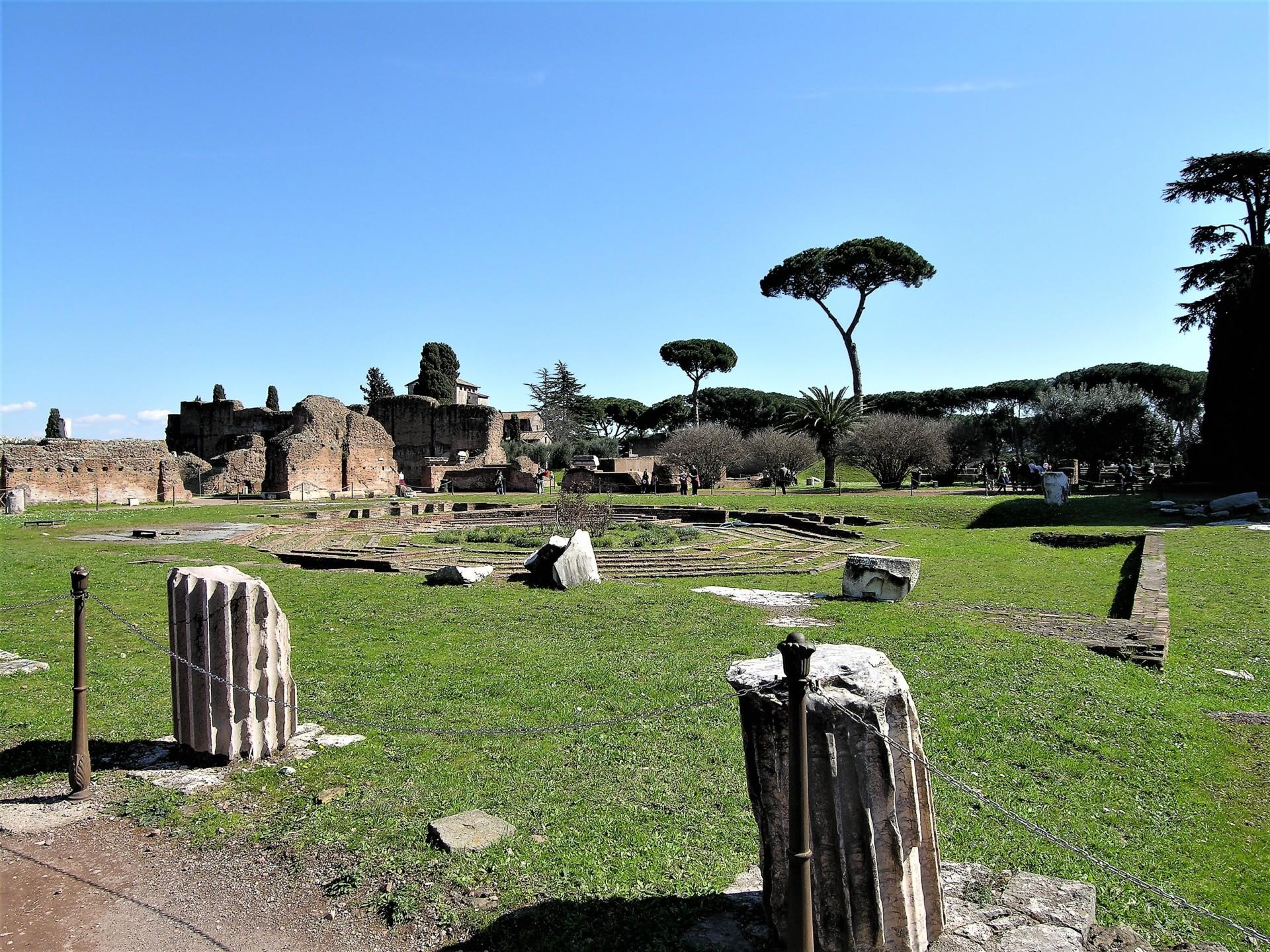 Unterwegs in Rom in italienisch - Caracalla-Thermen