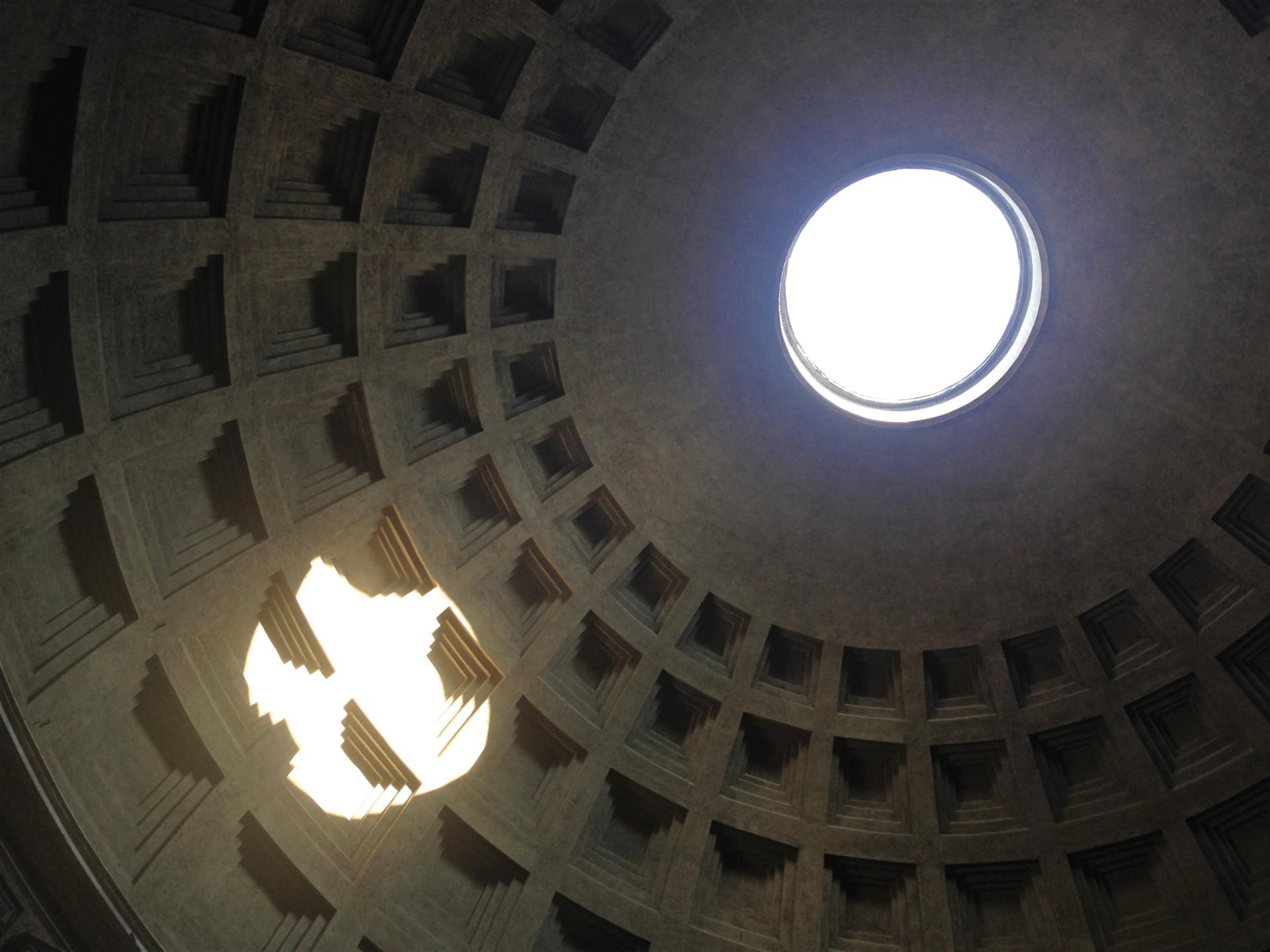 Pantheon, die Kuppel