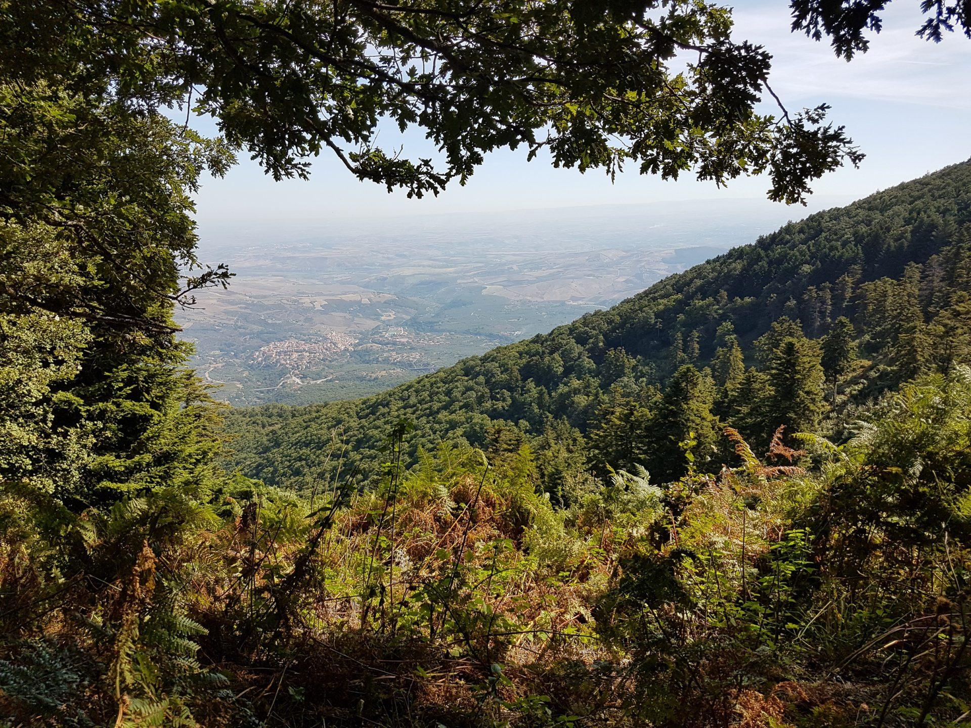 Blick vom Monte Vulture