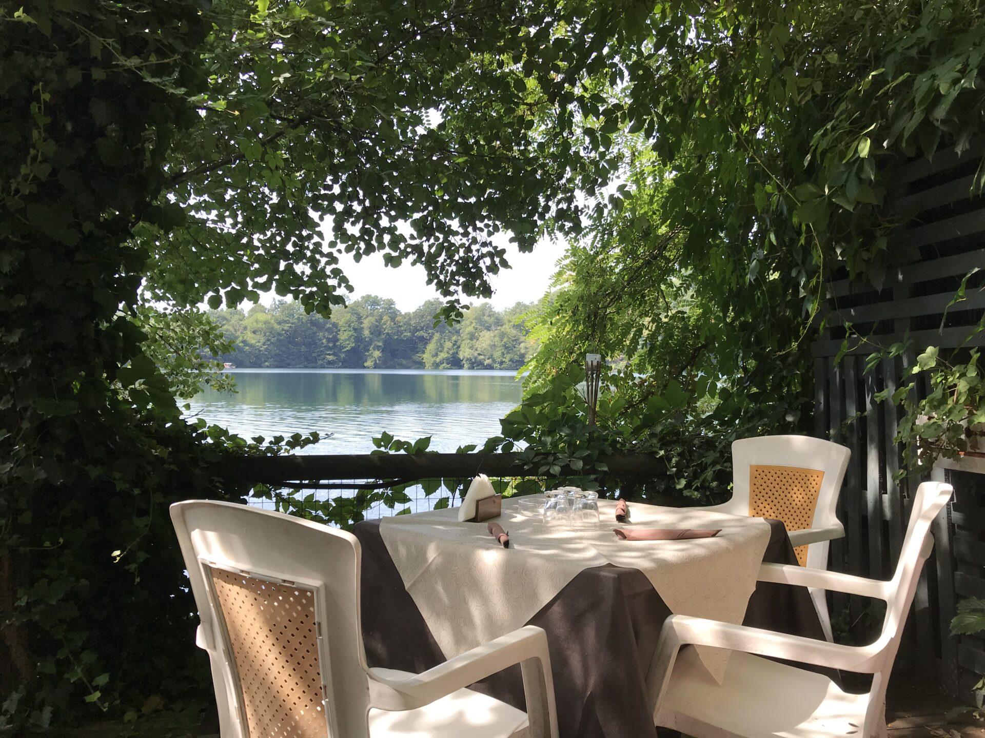 Vor dem Apero, lago piccolo di Monticchio