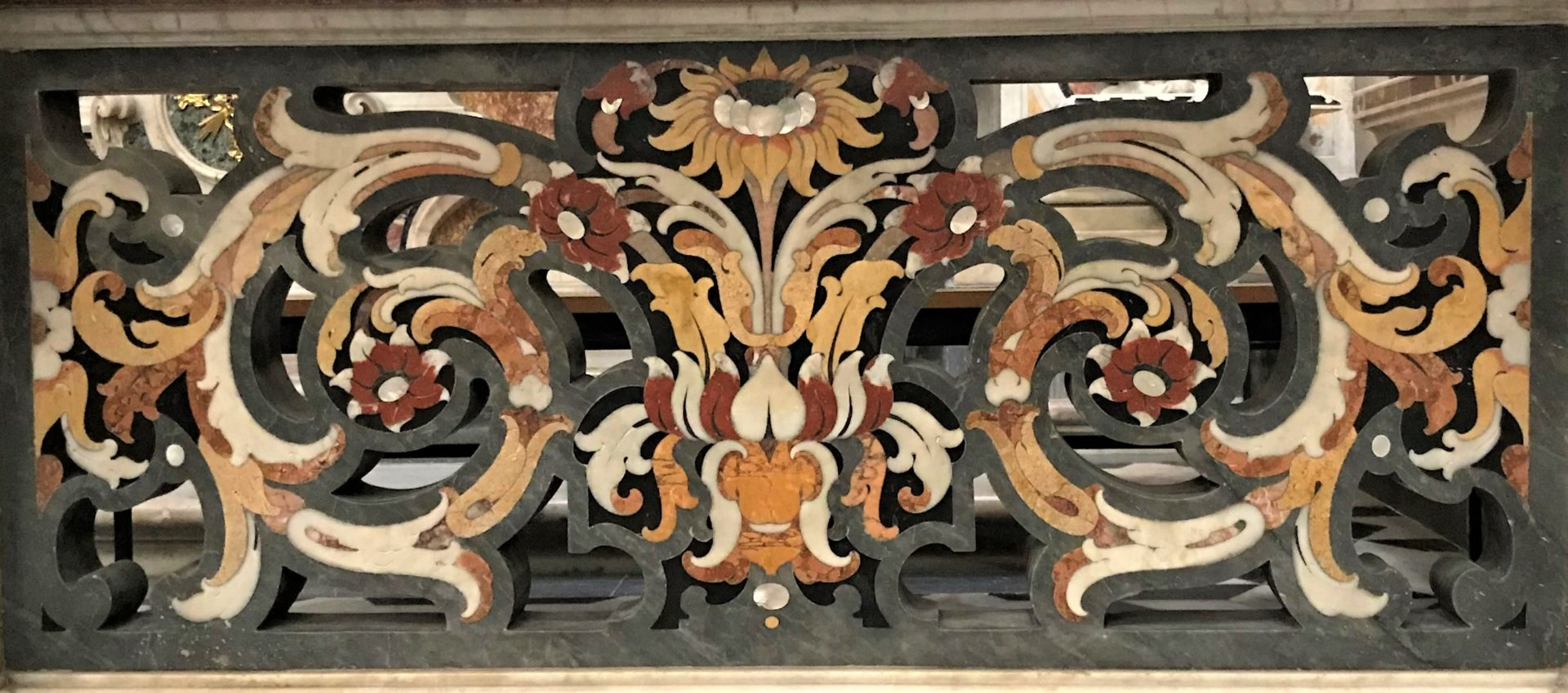 Altar in der Krche Gesù Vecchio
