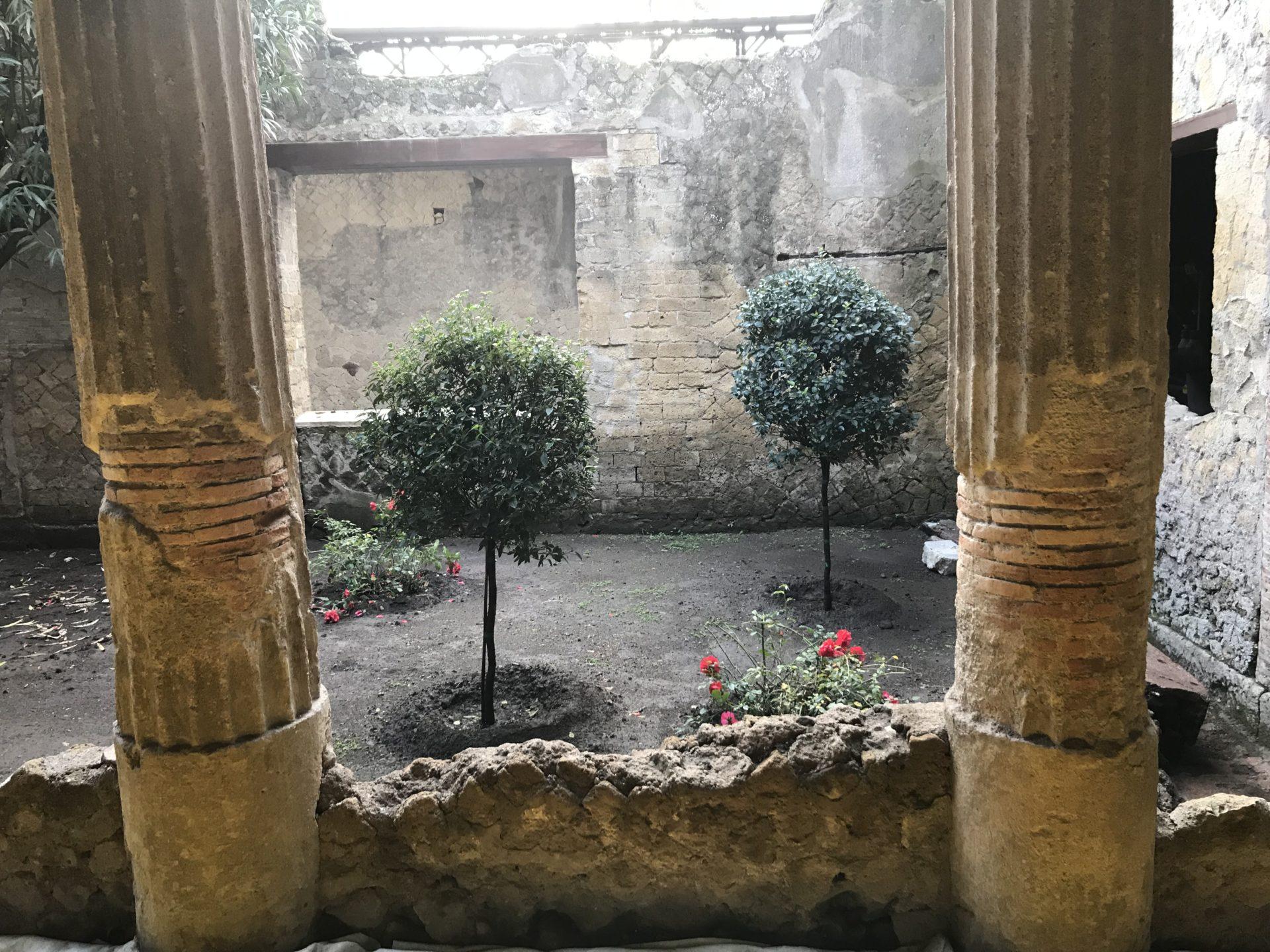 Ercolano, ein Garten