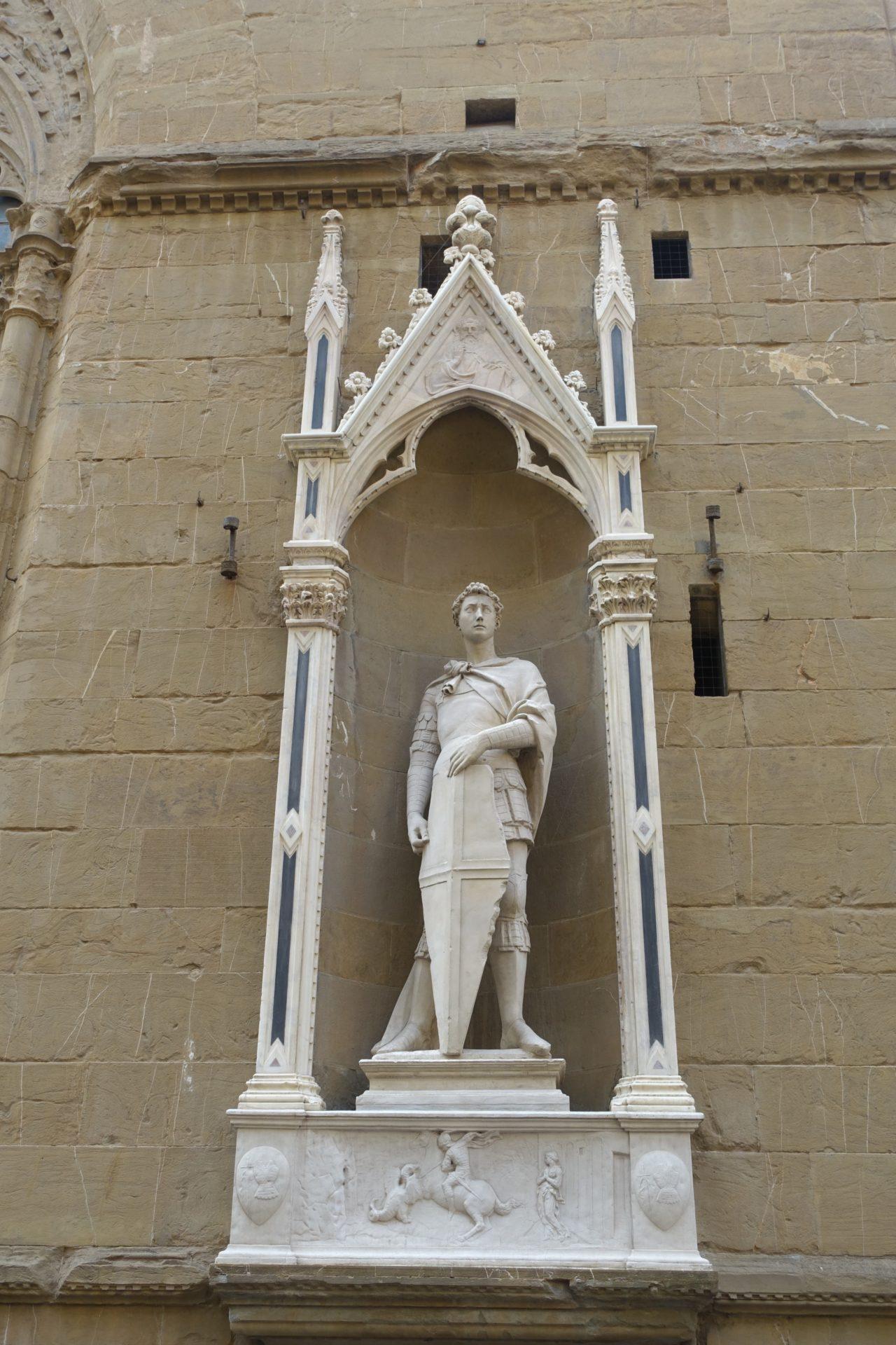Orsanmichele: Donatellos Hl. Georg