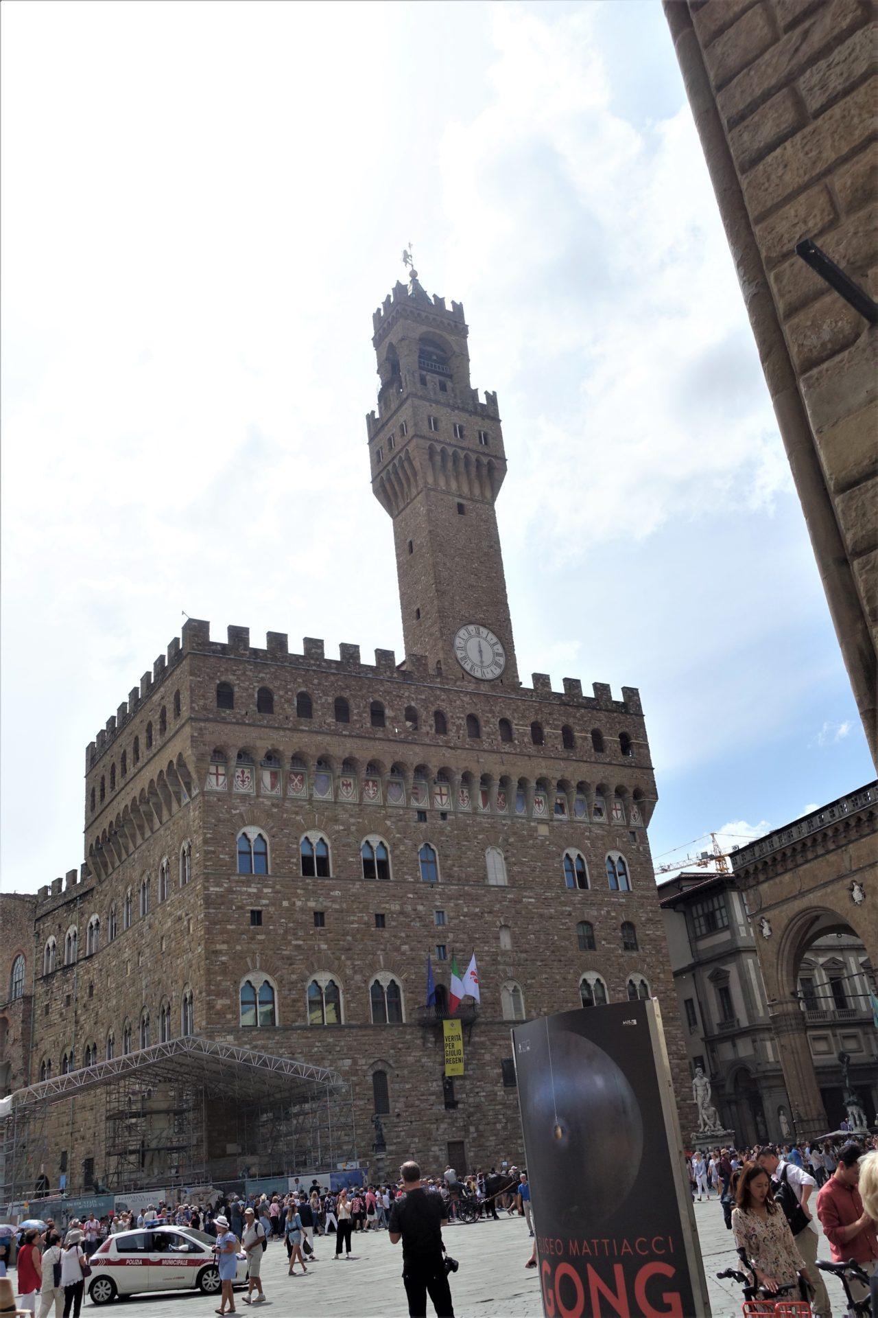 Palazzo vecchio o Palazzo della Signoria