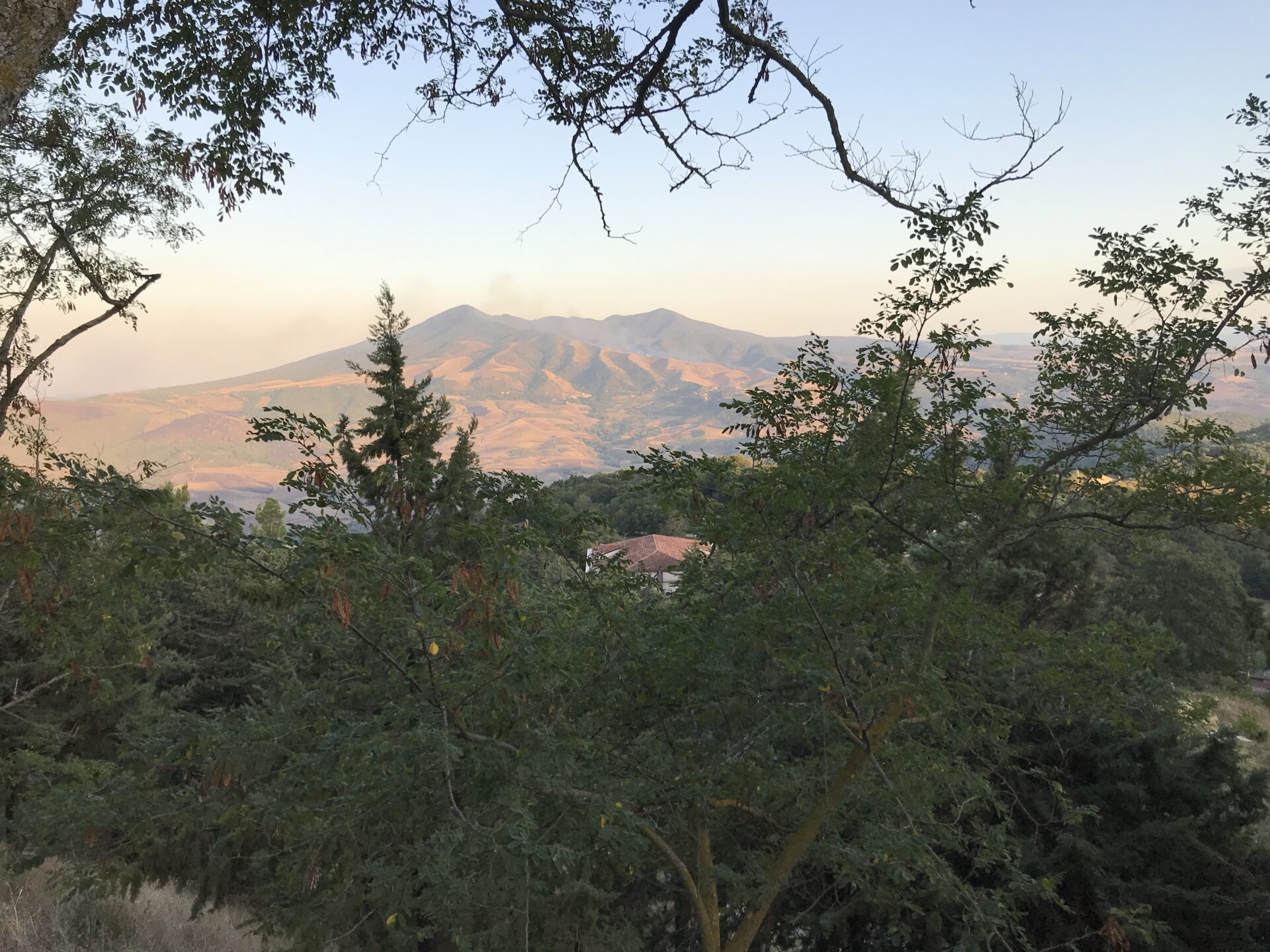 Monte Vulture im September 2020