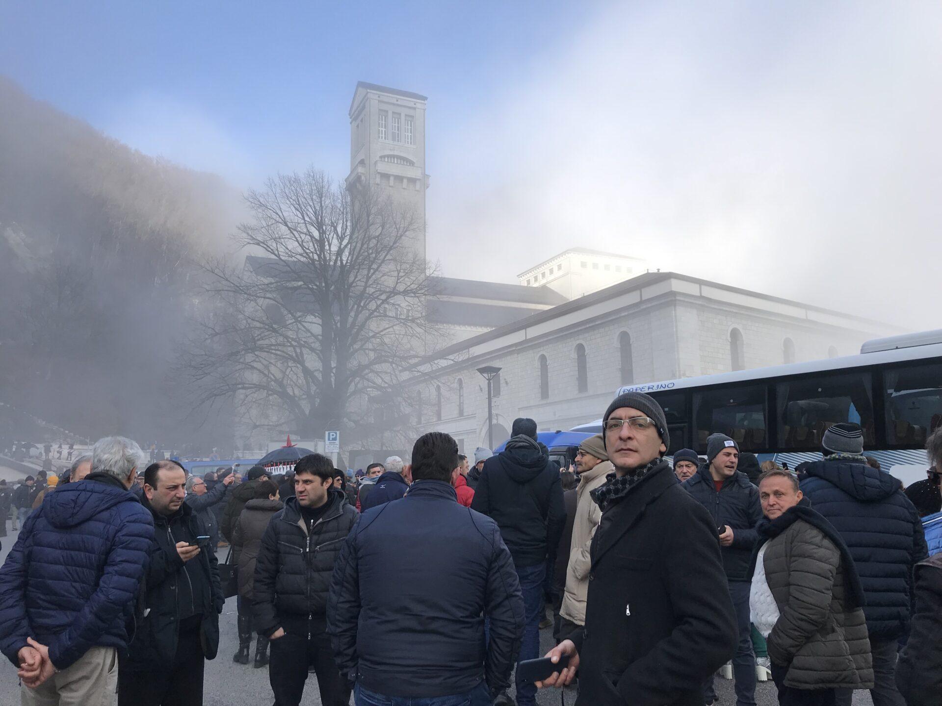Die Nebel kommen und gehen