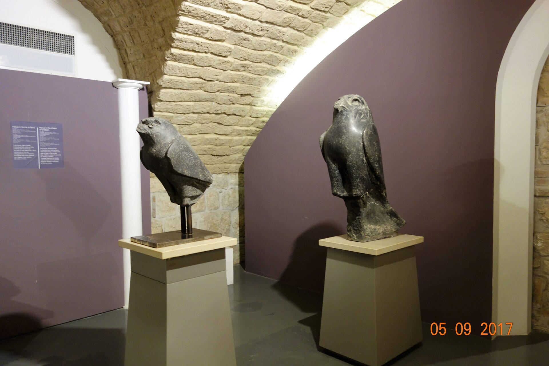 Benevento reperti del tempio di Isisde