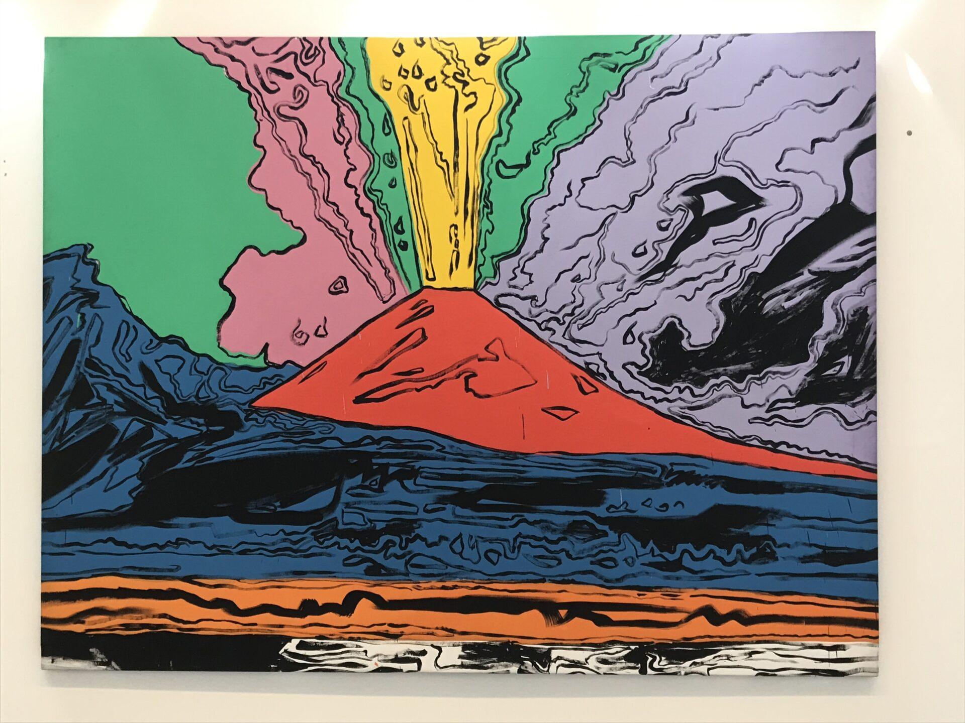 Il Vesuvio, von Andy Warhol