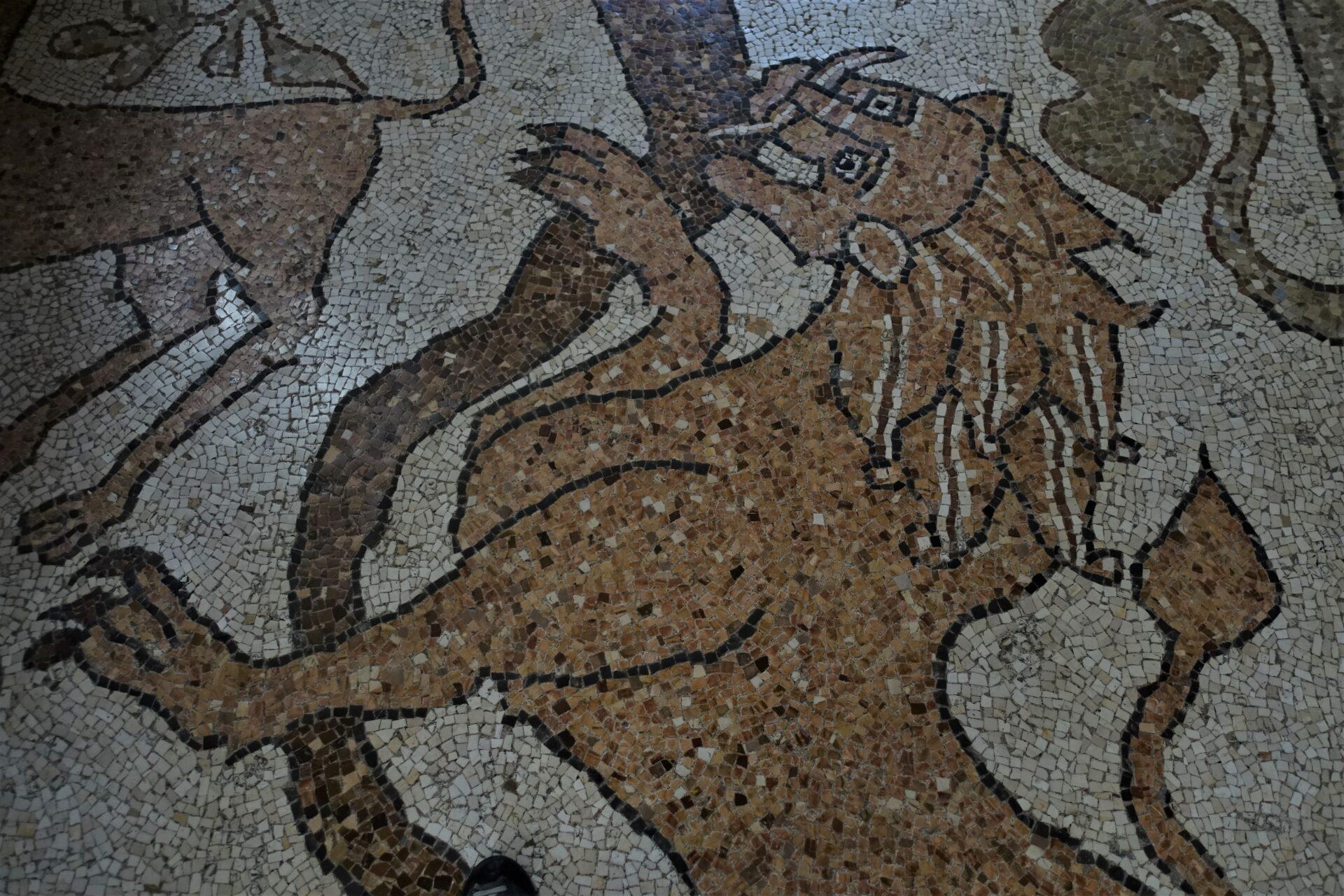 Otranto, der Löwe