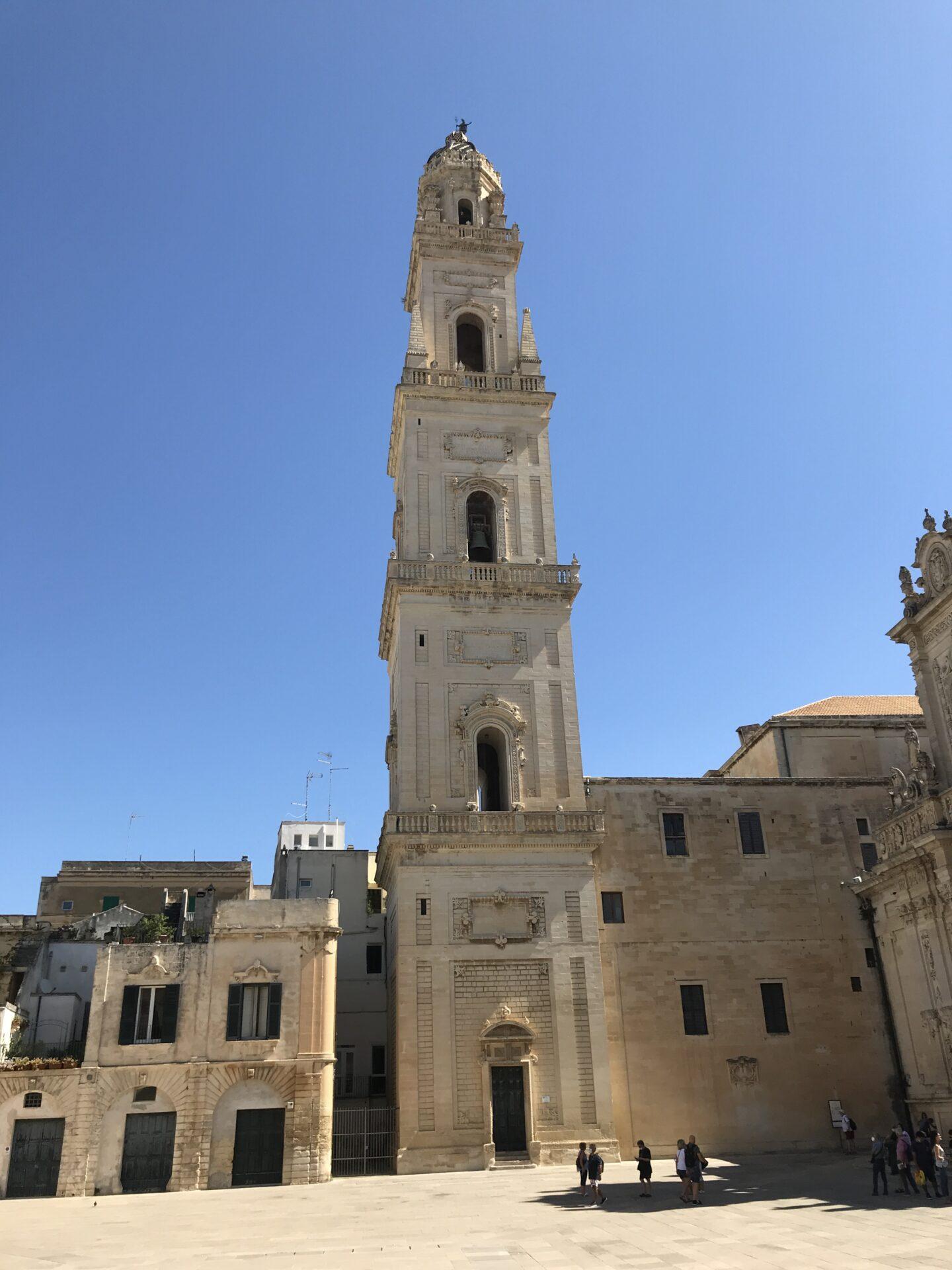 Der campanile des Domes, Lecce