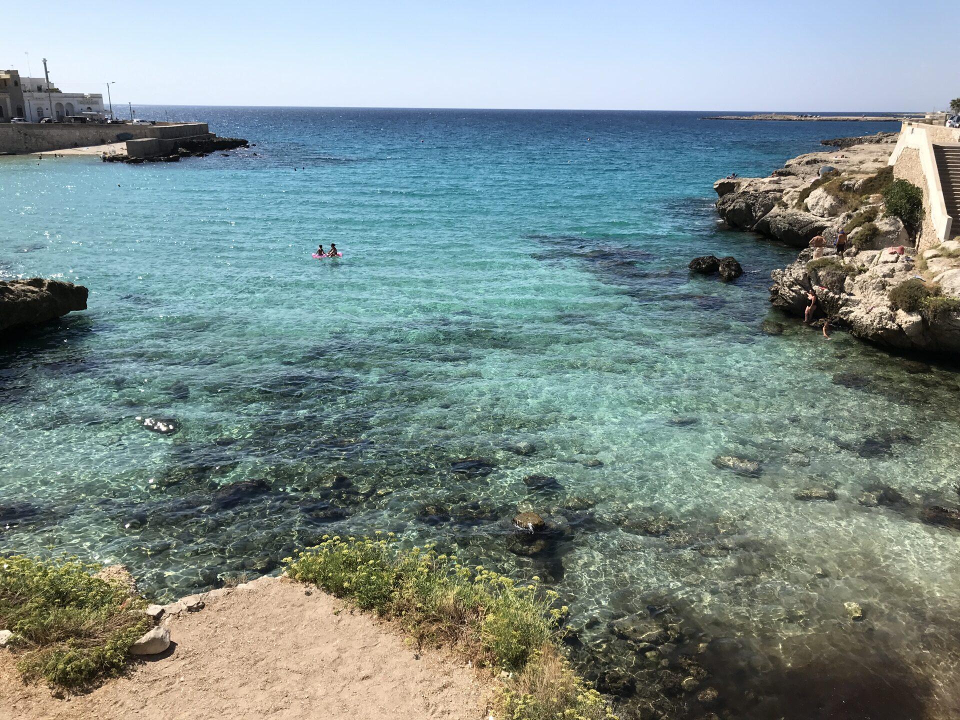 Das Meer bei Santa Maria al Bagno